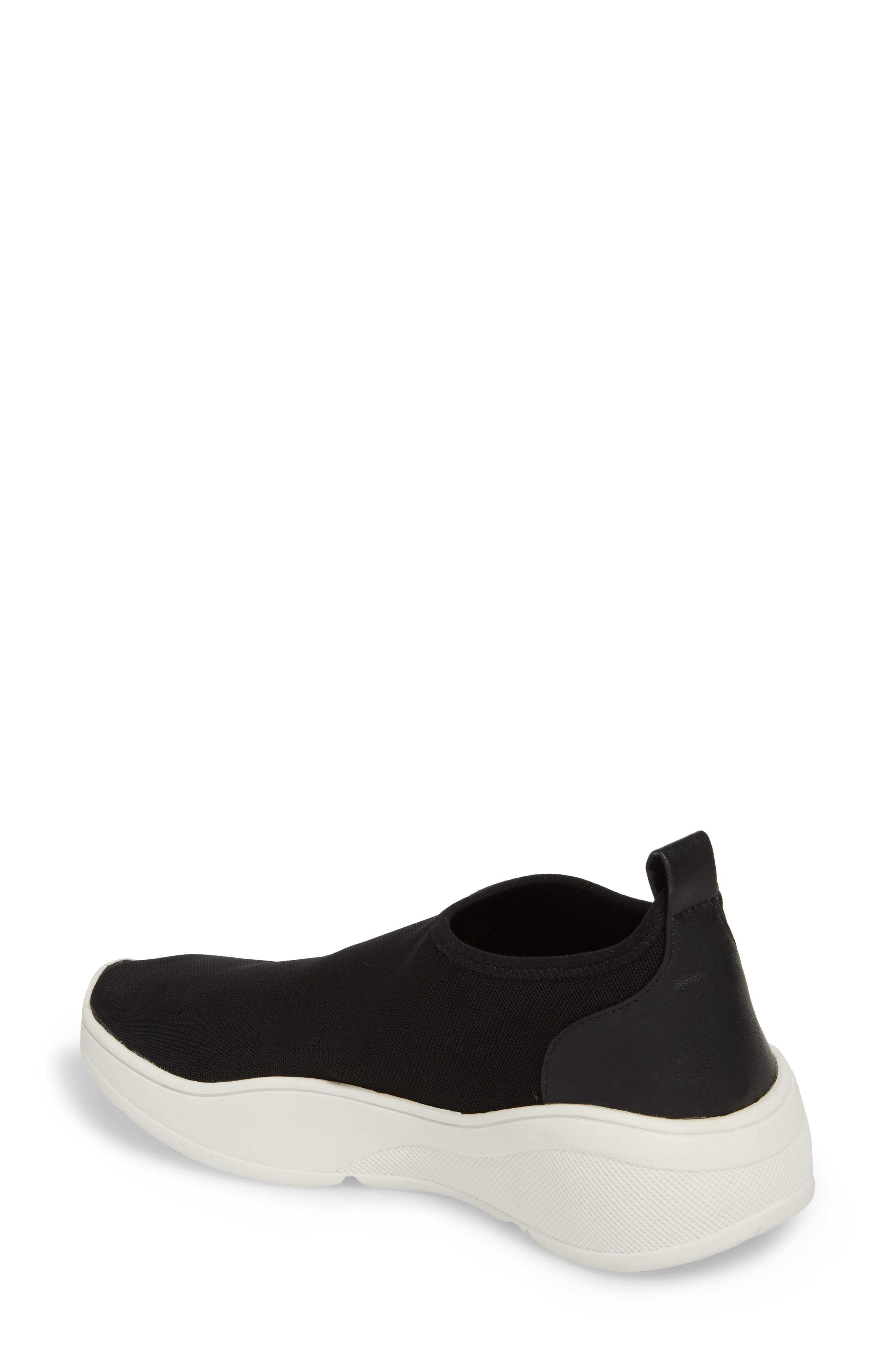 Floren Slip-On Sneaker,                             Alternate thumbnail 2, color,                             001