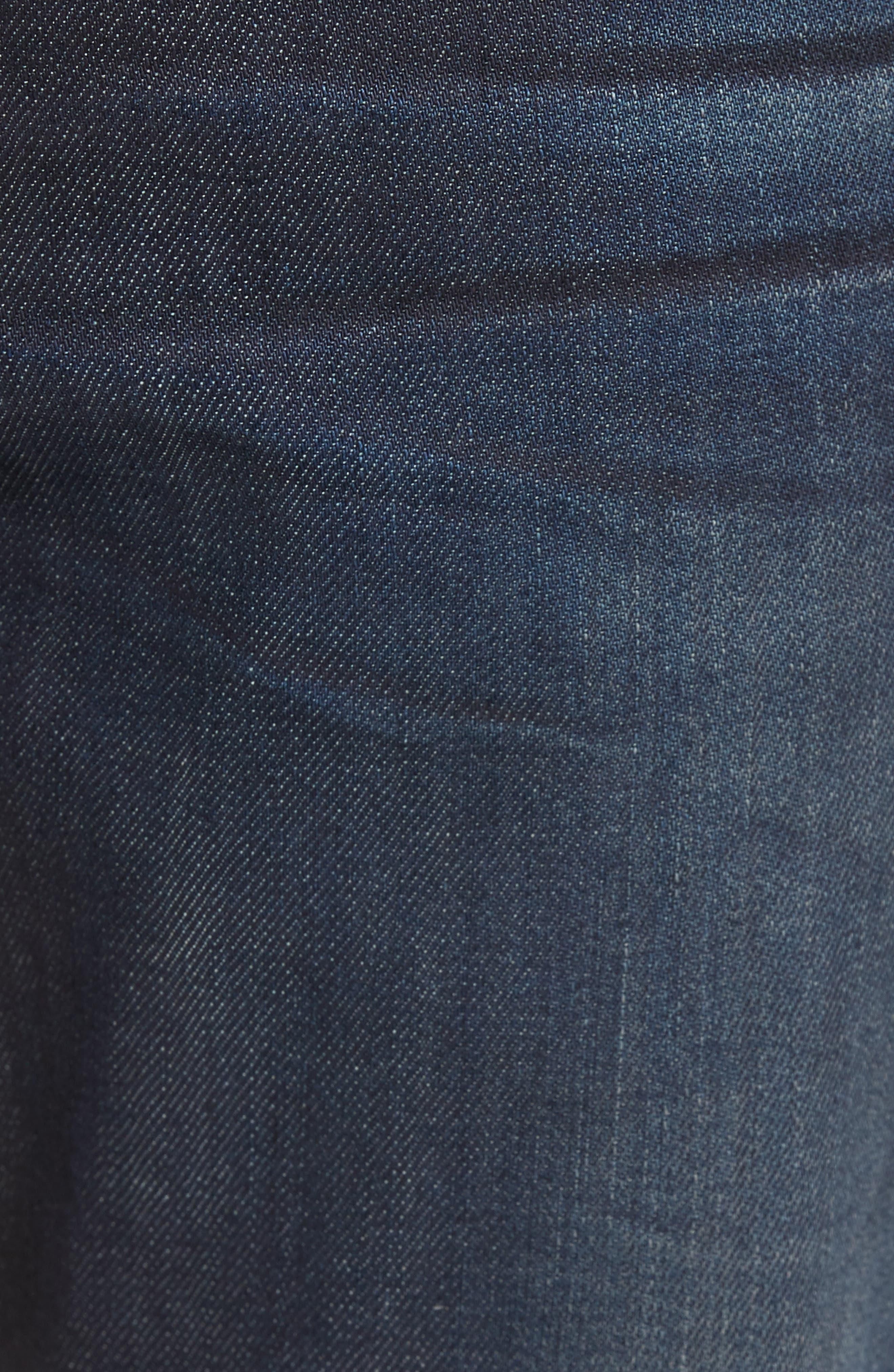 Bowery Slim Fit Jeans,                             Alternate thumbnail 5, color,                             HURON