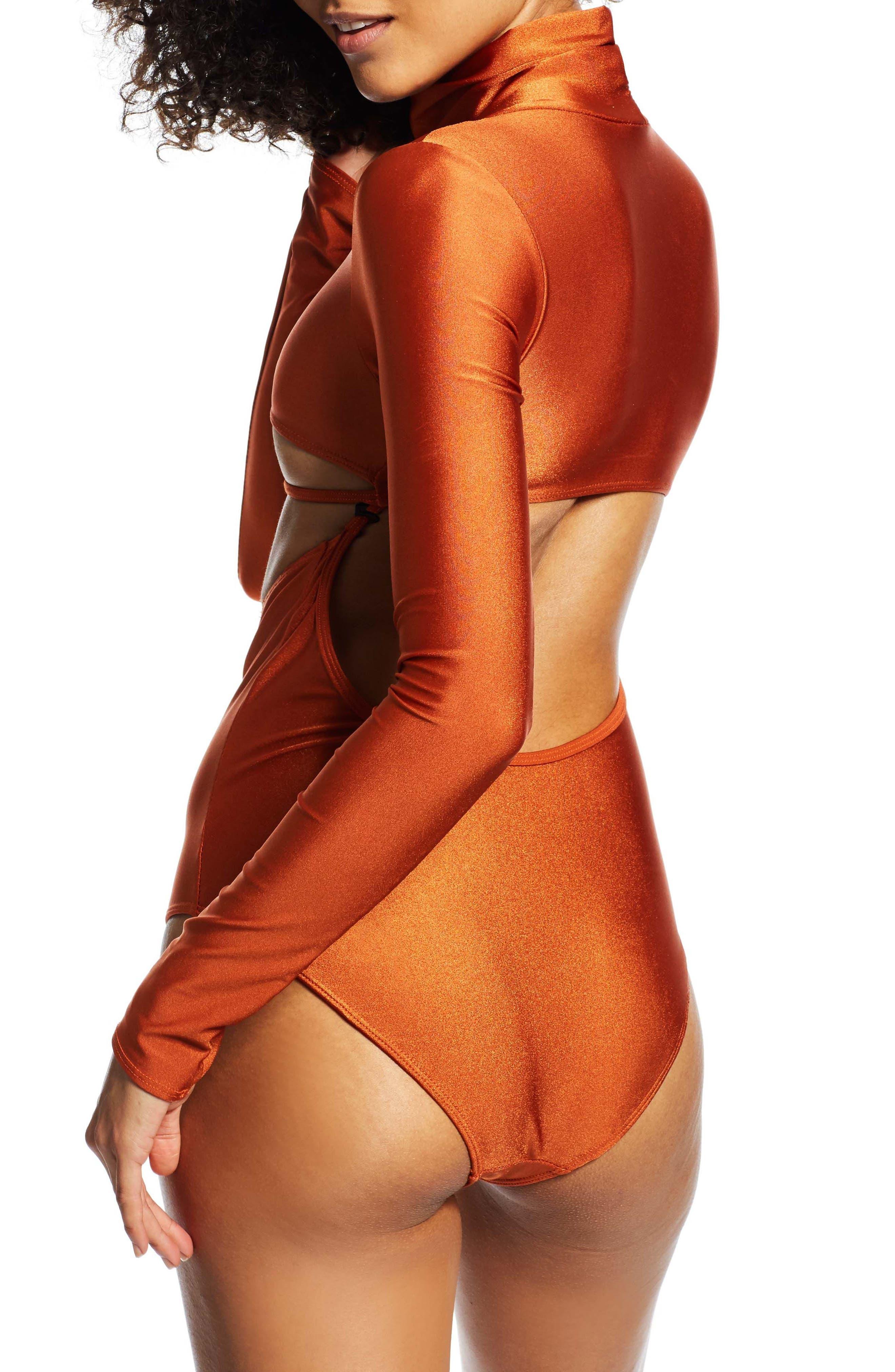 Long Sleeve Bodysuit,                             Alternate thumbnail 2, color,                             800