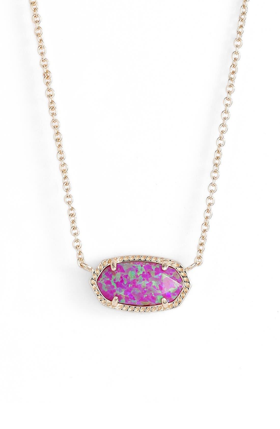 'Elisa' Pendant Necklace,                             Main thumbnail 62, color,
