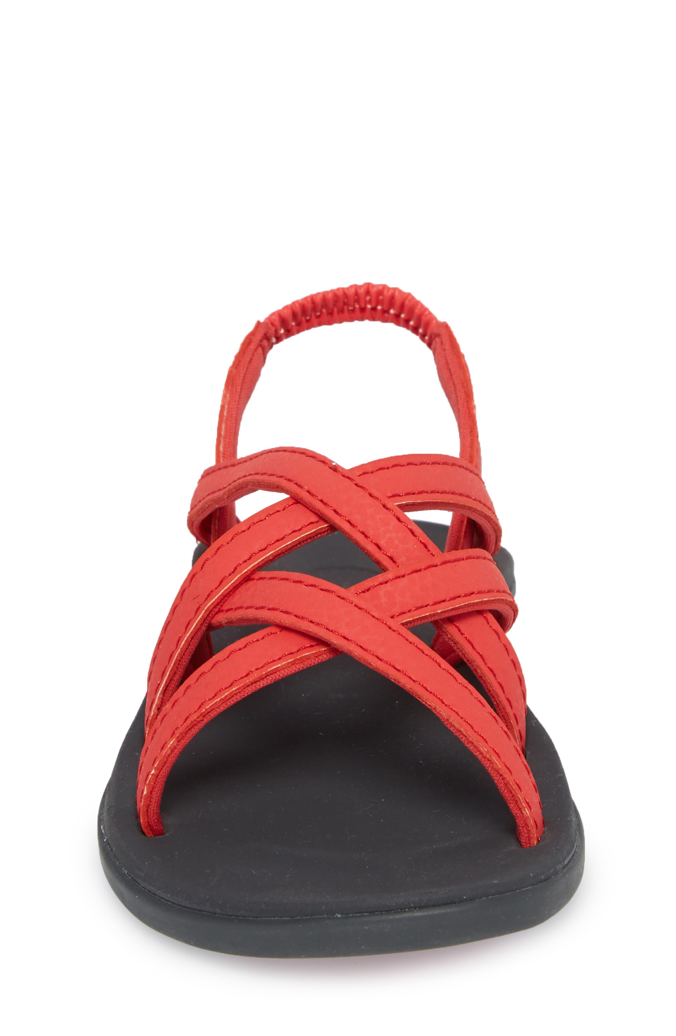 Kalapu Sandal,                             Alternate thumbnail 4, color,                             HIBISCUS/ DARK SHADOW