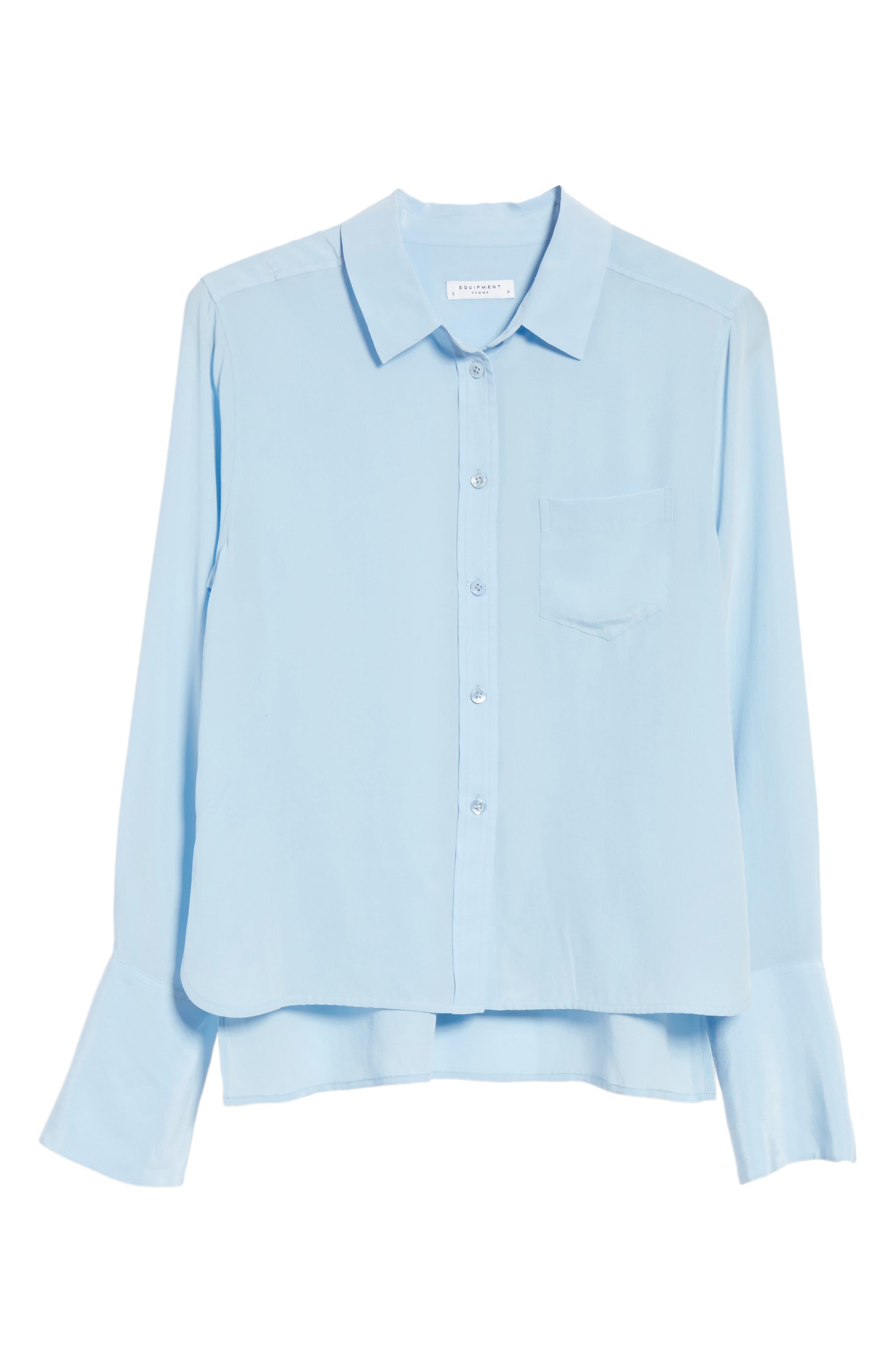 Darla Bell Cuff Shirt,                             Alternate thumbnail 18, color,