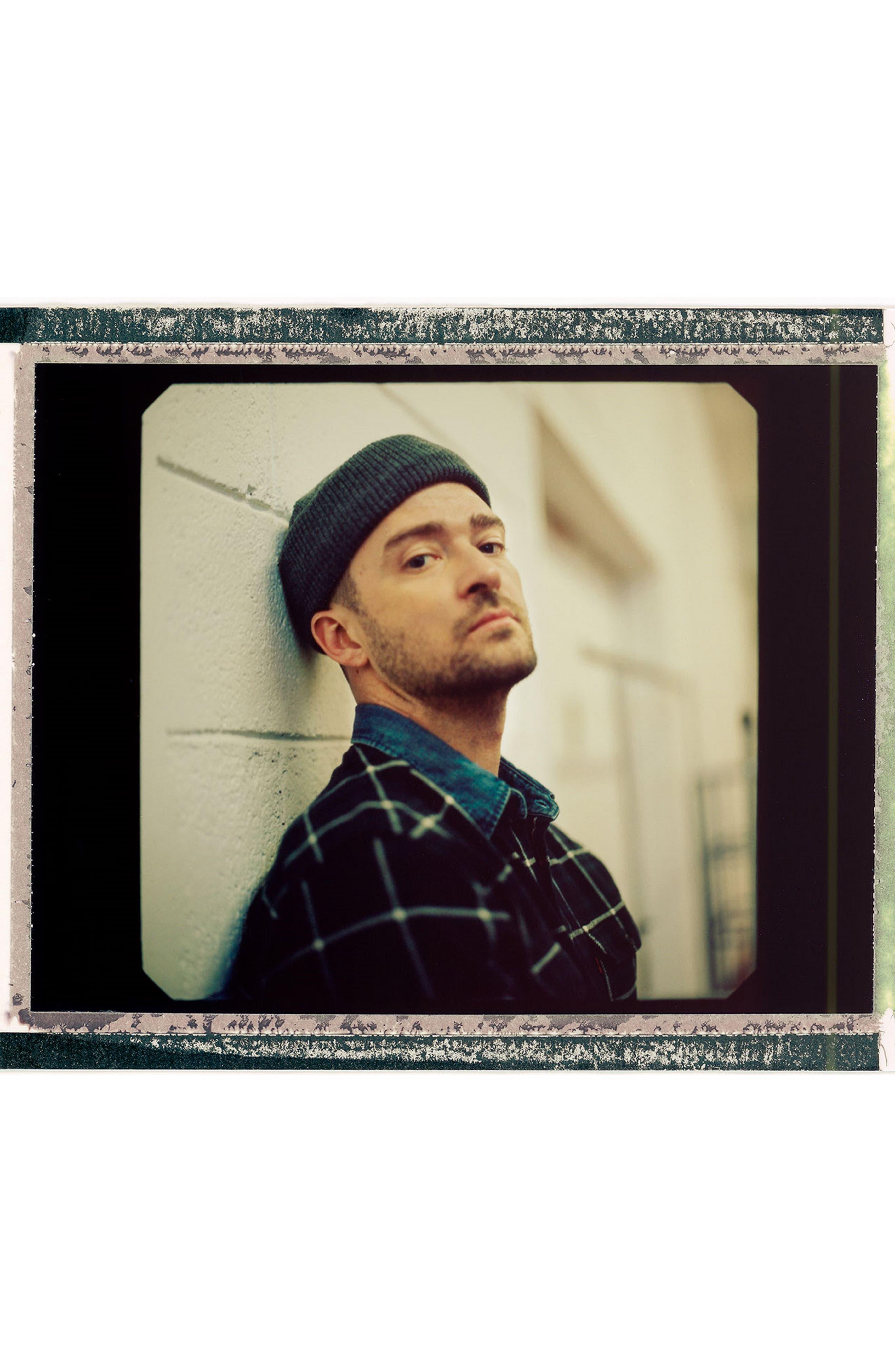 x Justin Timberlake Slim Fit Flannel Worker Shirt,                             Alternate thumbnail 9, color,                             HALLET NIGHT SKY
