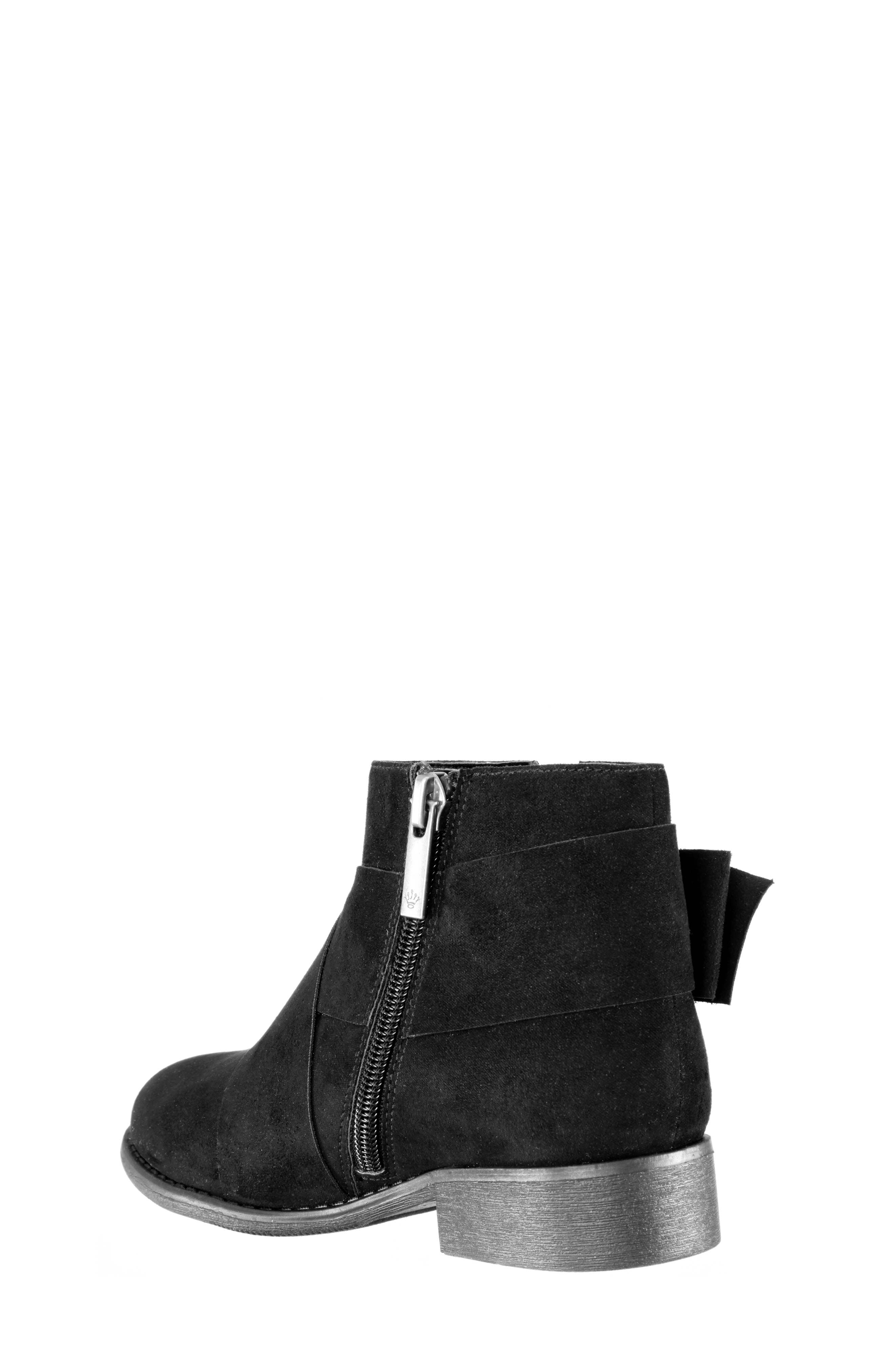 Dollee Bootie,                             Alternate thumbnail 2, color,                             BLACK MICRO SUEDE