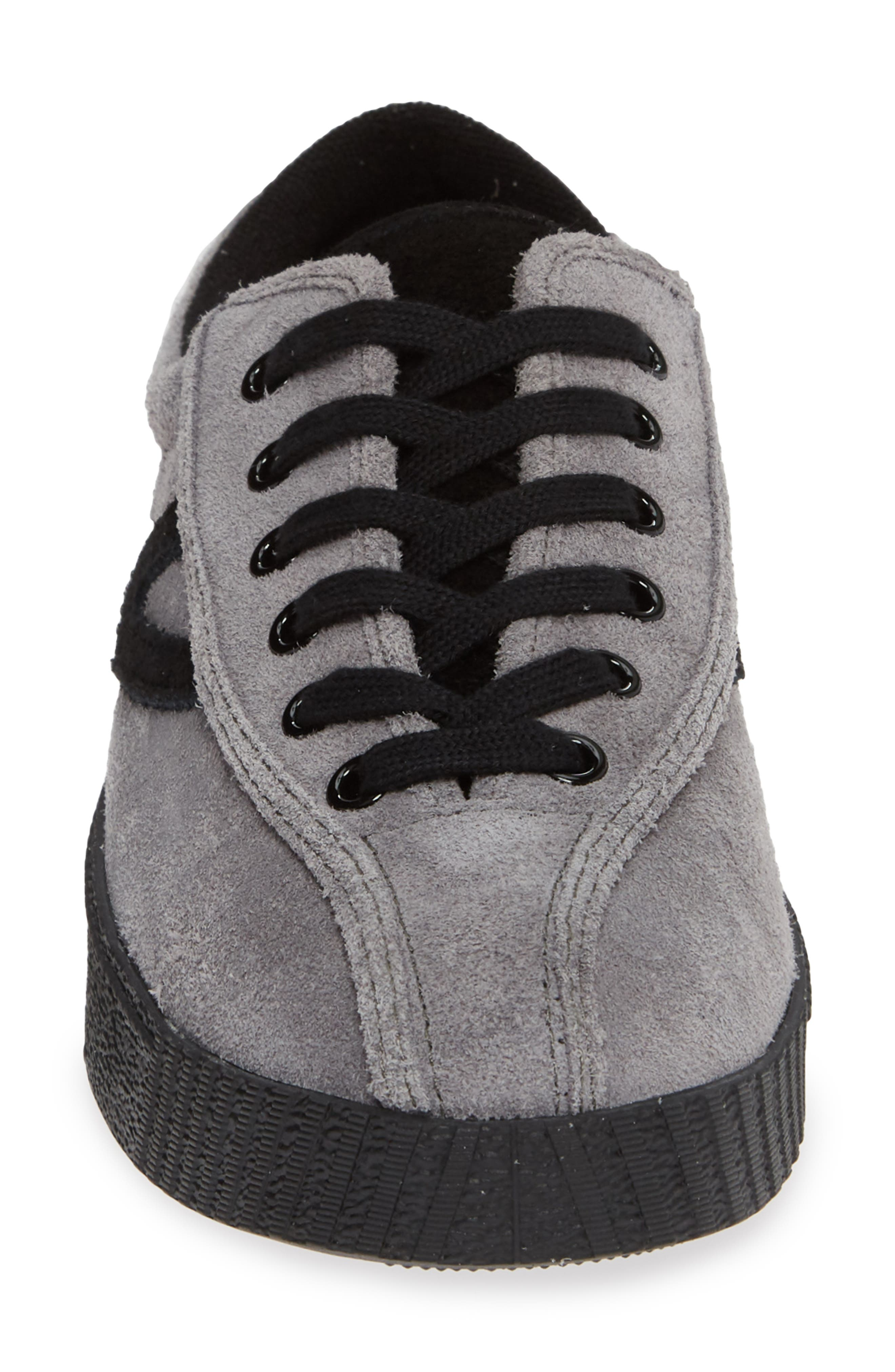 Nylite26Plus Sneaker,                             Alternate thumbnail 4, color,                             GRAPHITE SUEDE