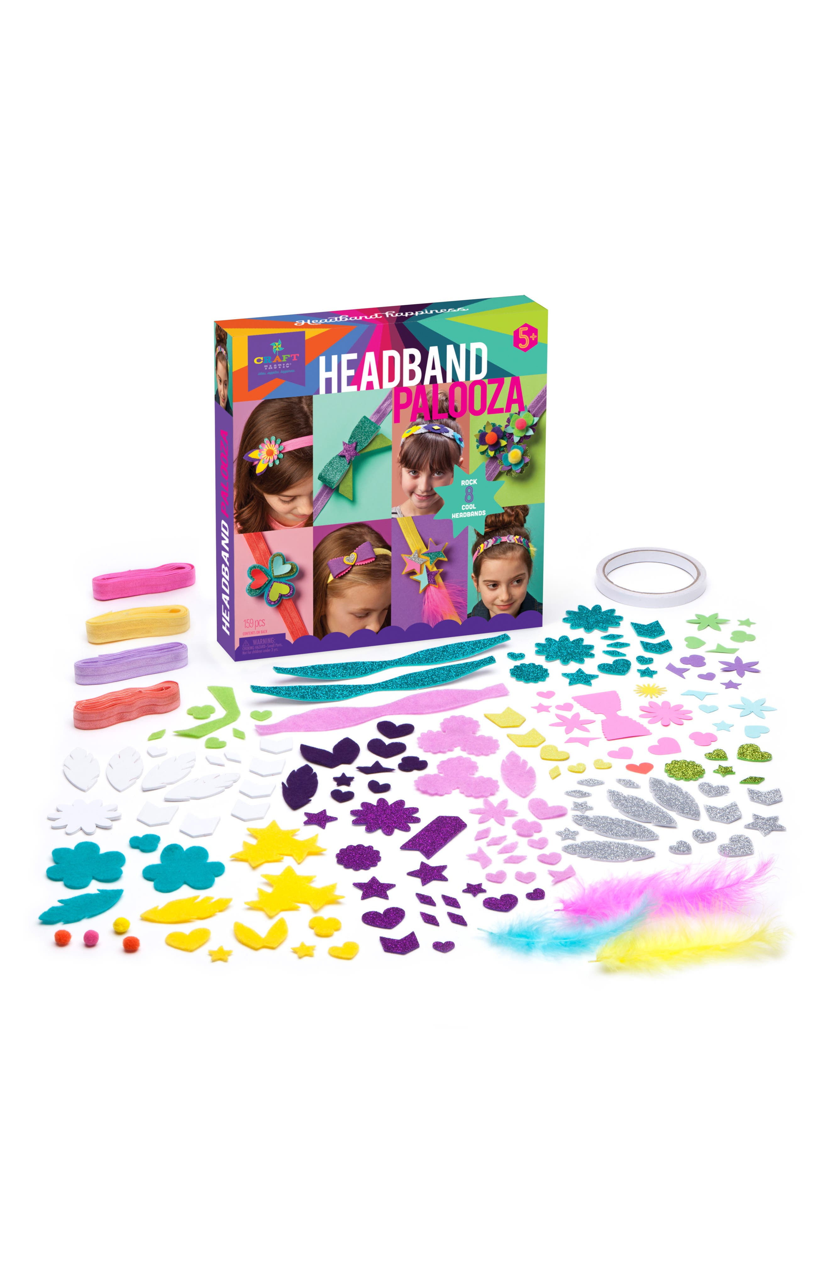 Headband Palooza Crafting Kit,                             Alternate thumbnail 4, color,                             500