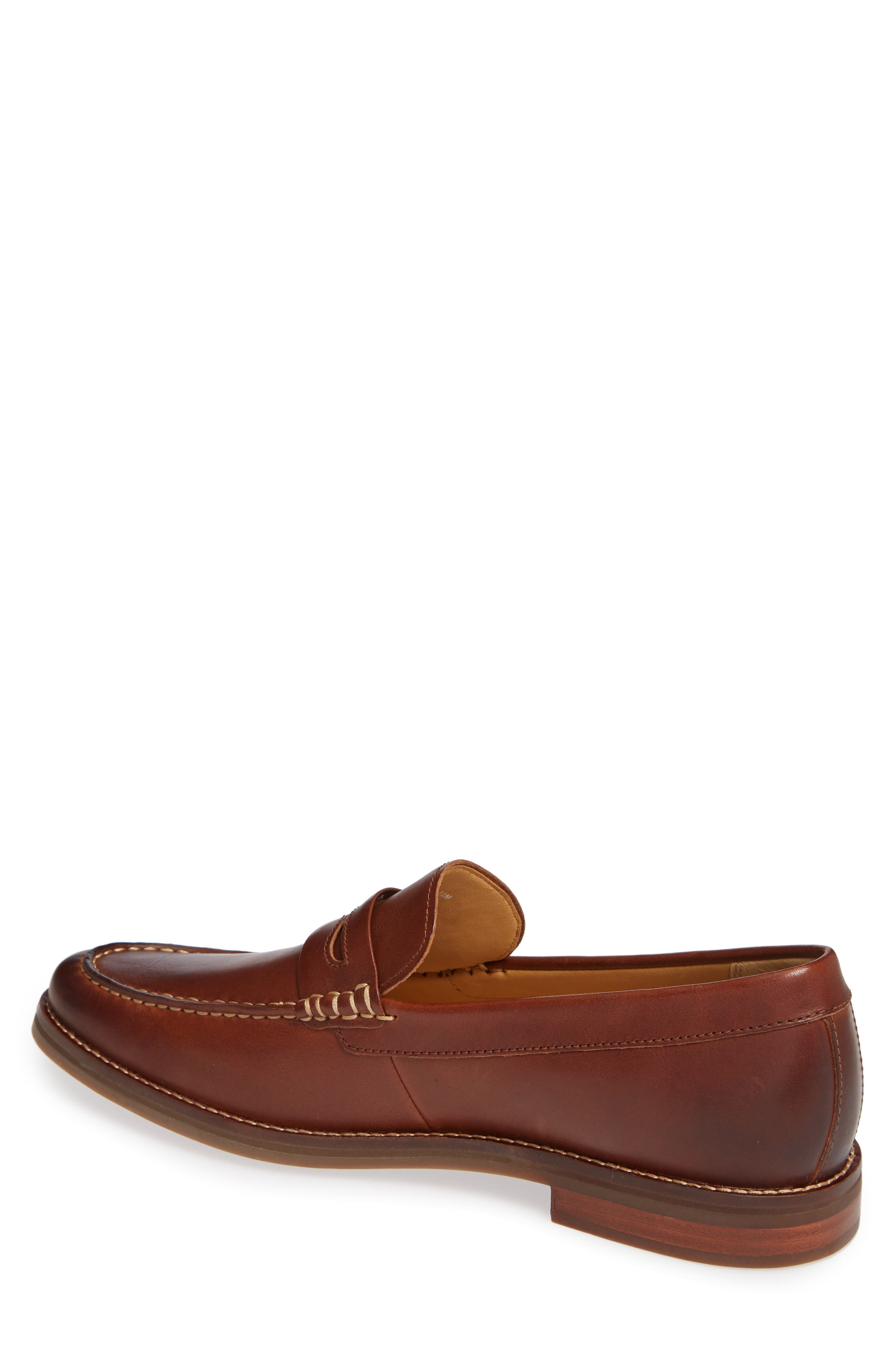 Gold Cup Exeter Penny Loafer,                             Alternate thumbnail 2, color,                             TAN