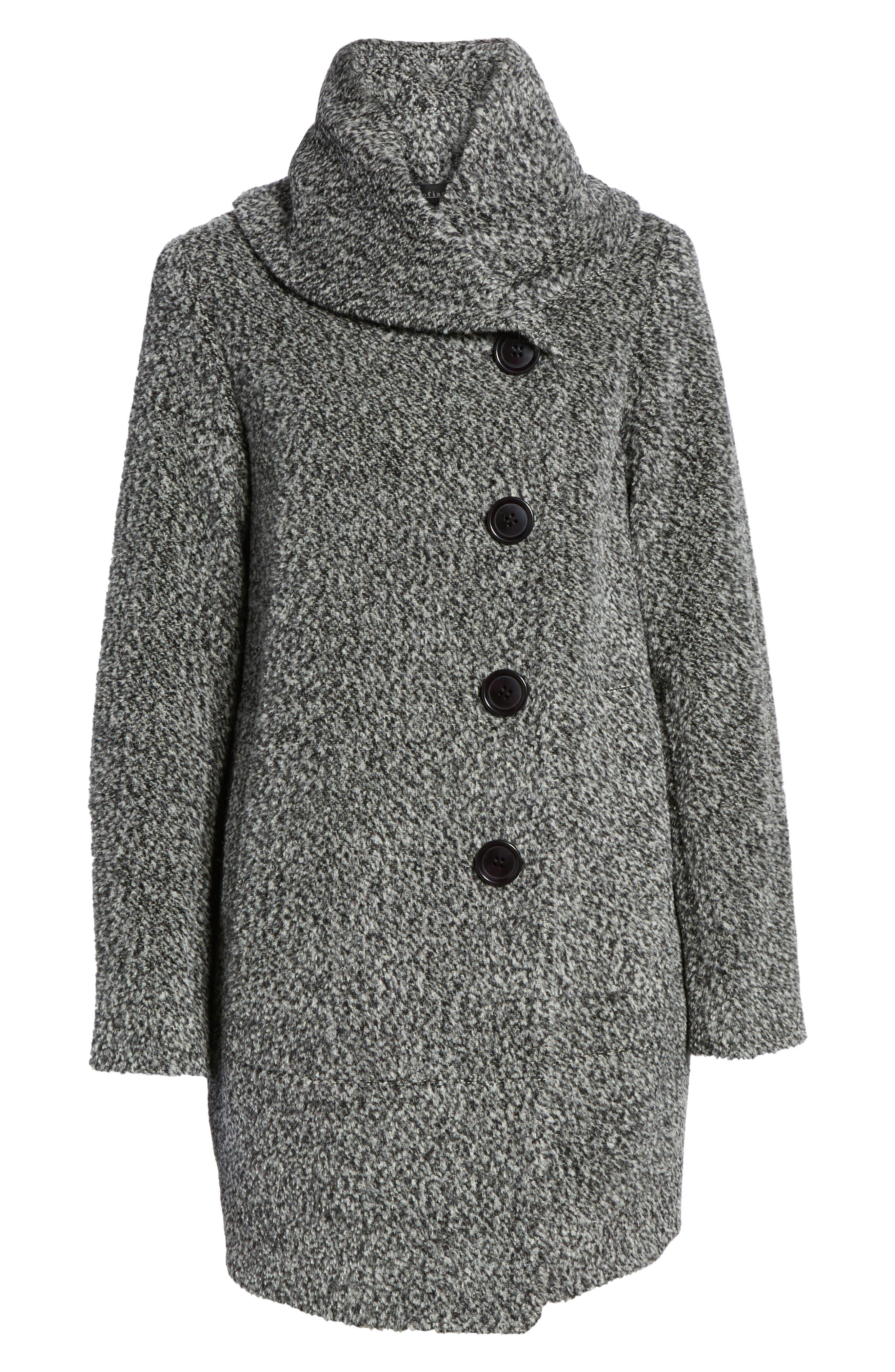 Wool Blend Coat,                             Alternate thumbnail 5, color,                             011