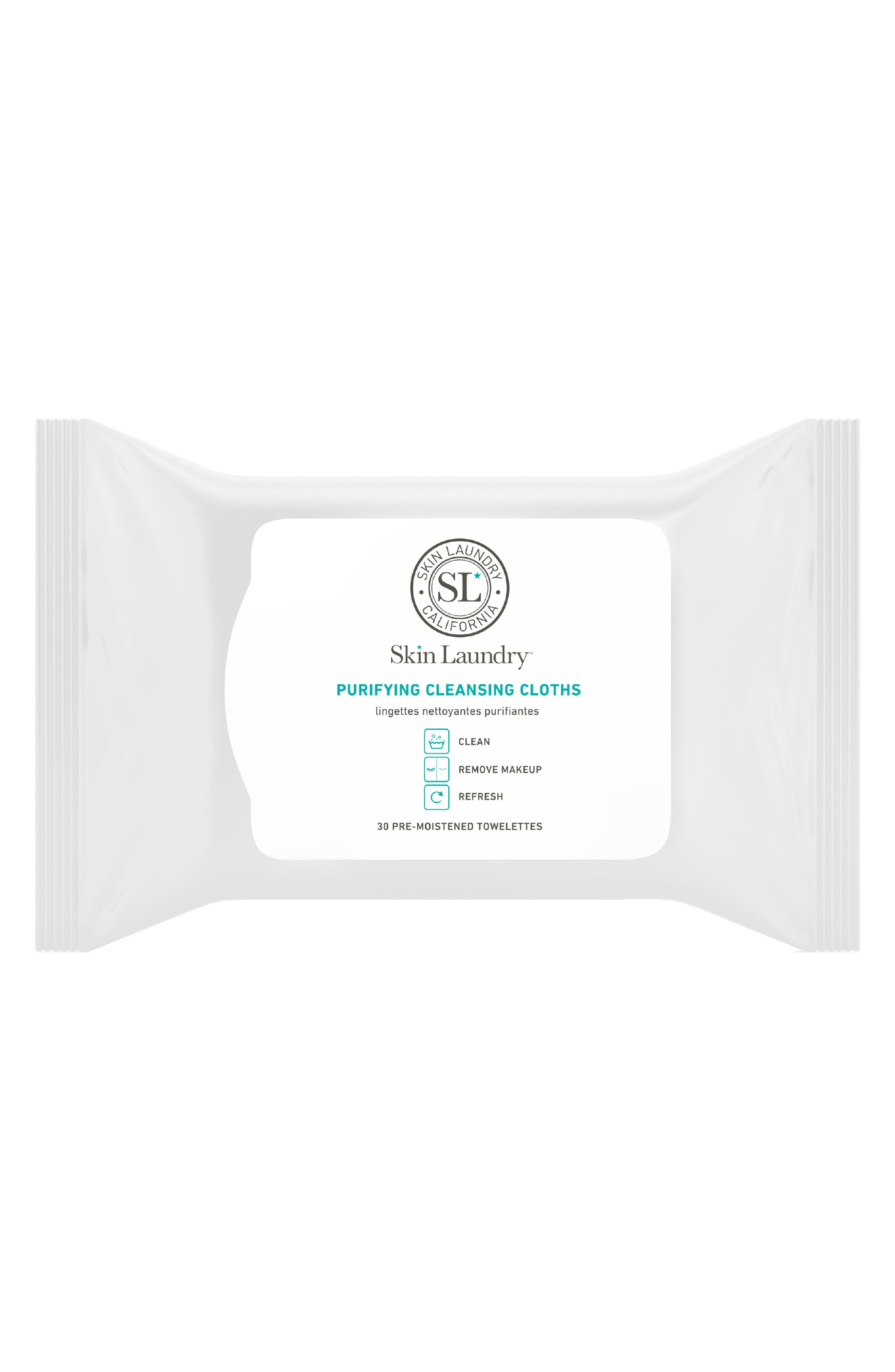 Purifying Cleansing Cloths,                             Main thumbnail 1, color,                             NO COLOR