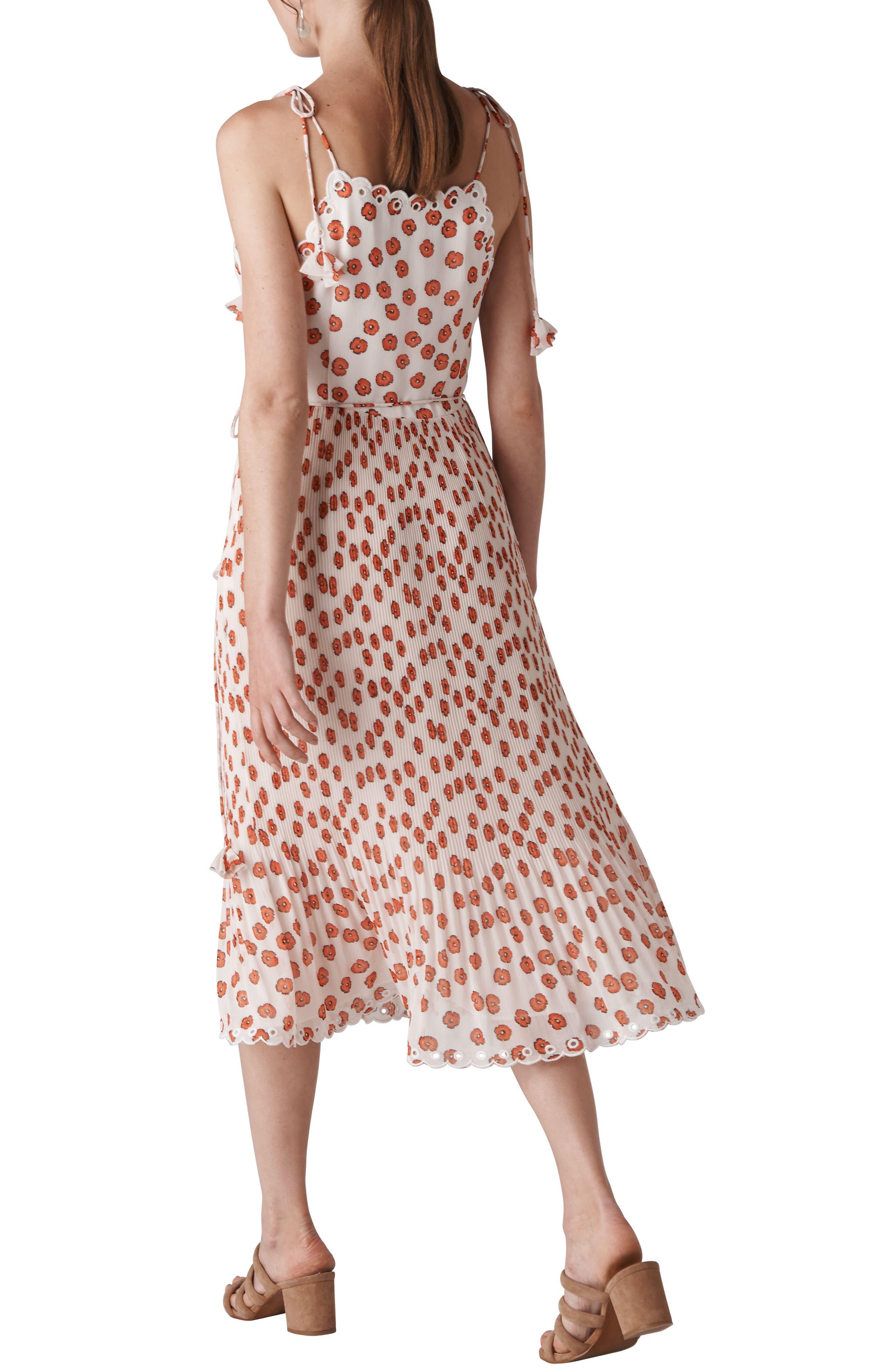 Salome Lenno Print Midi Dress,                             Alternate thumbnail 2, color,                             100