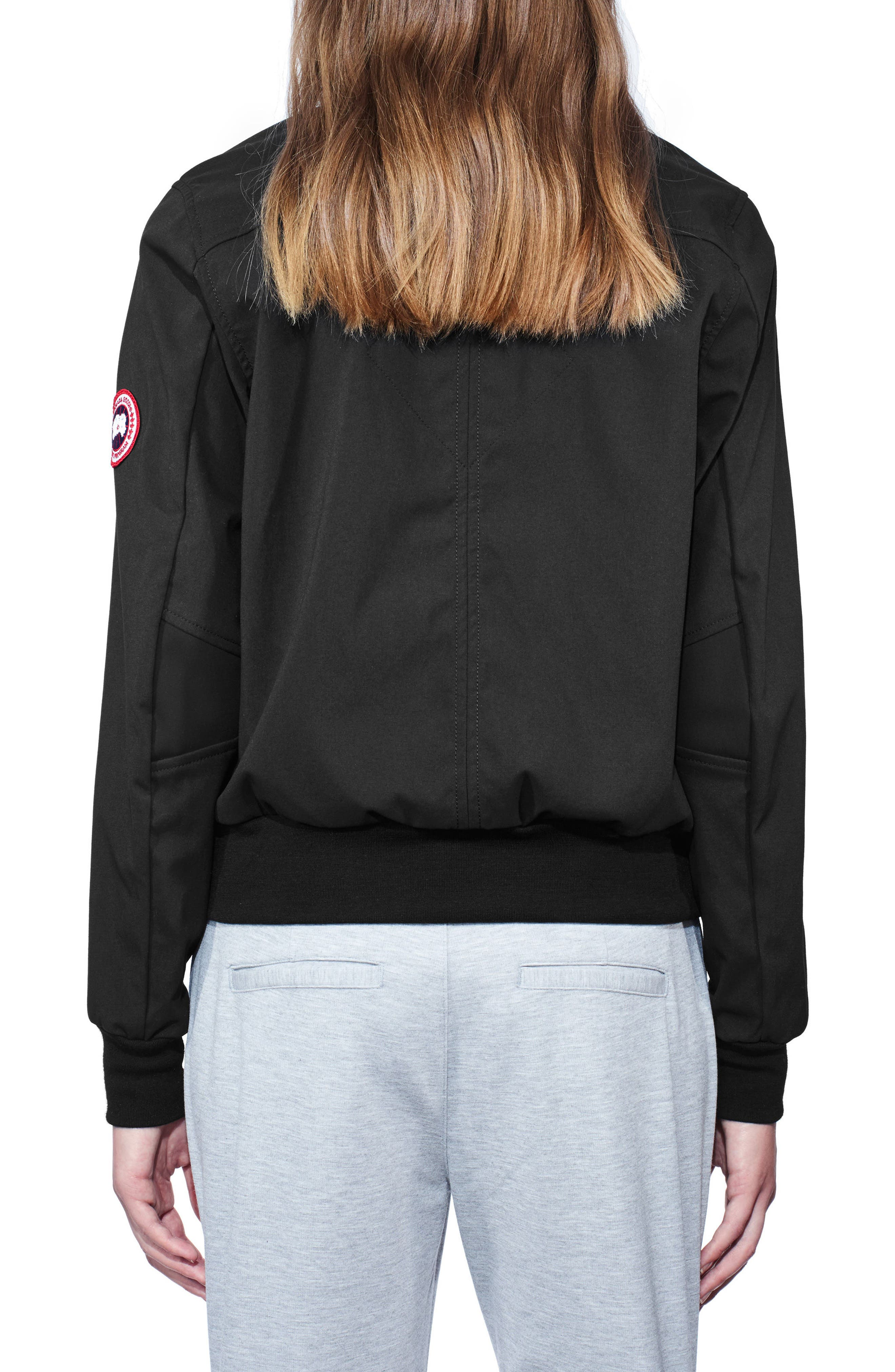 Hanley Down Bomber Jacket,                             Alternate thumbnail 2, color,                             001