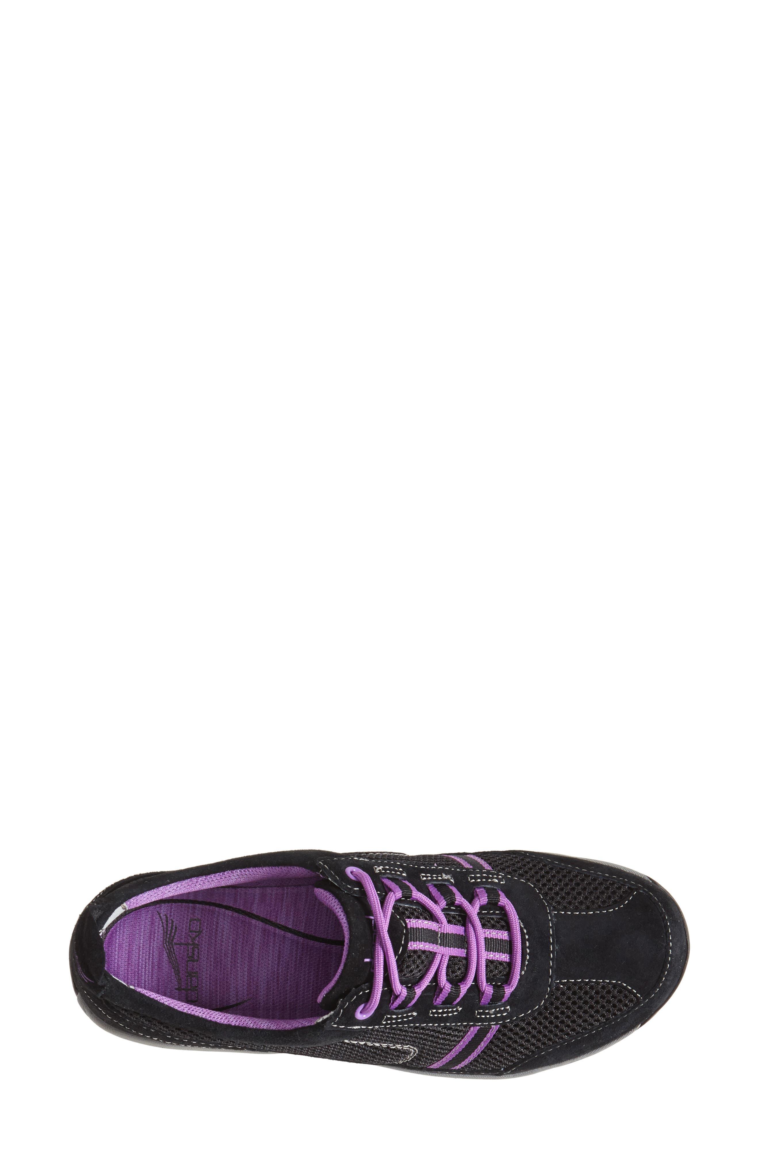 'Helen' Suede & Mesh Sneaker,                             Alternate thumbnail 17, color,