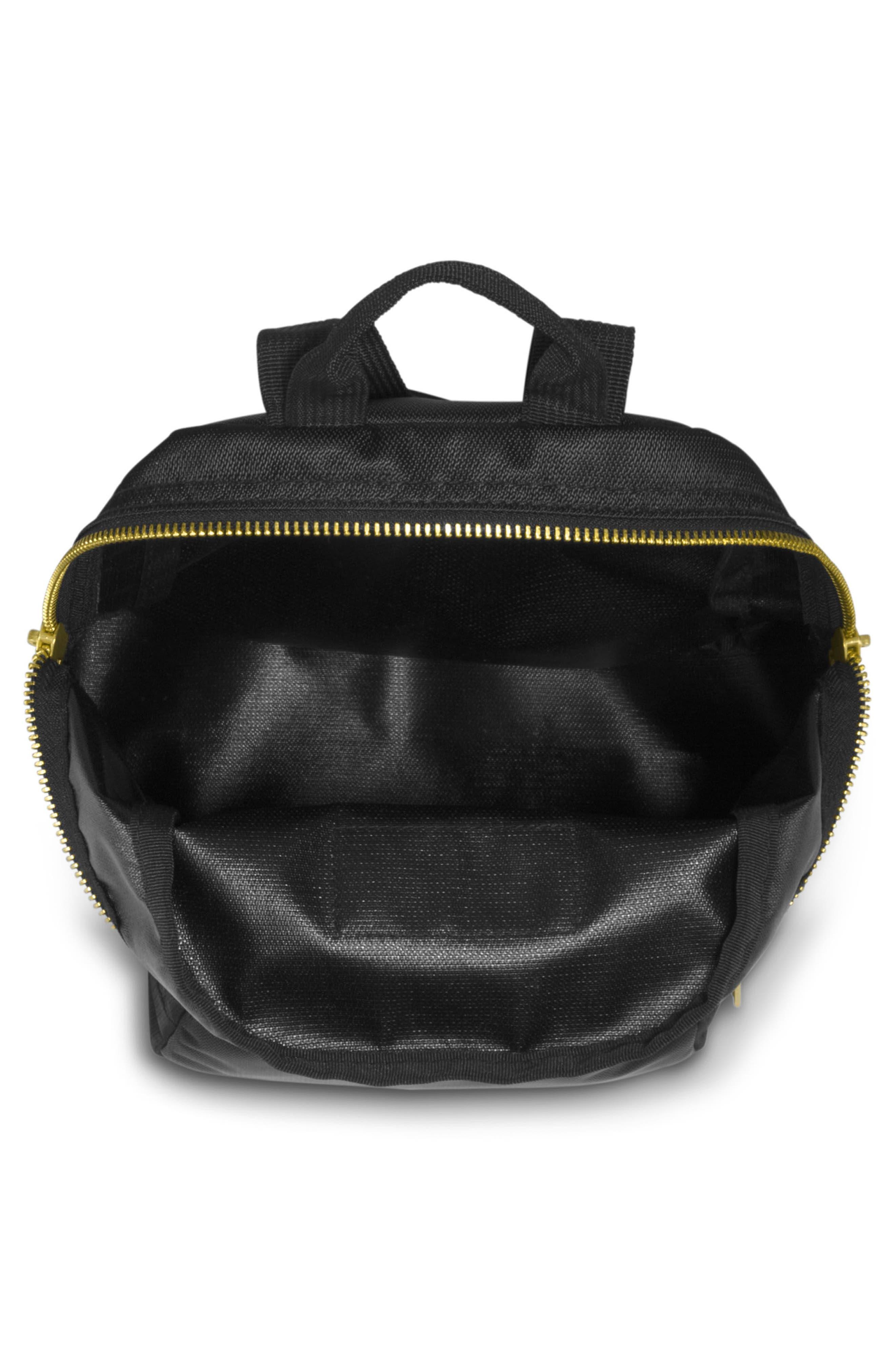 Half Pint FX Backpack,                             Alternate thumbnail 4, color,                             BLACK GOLD