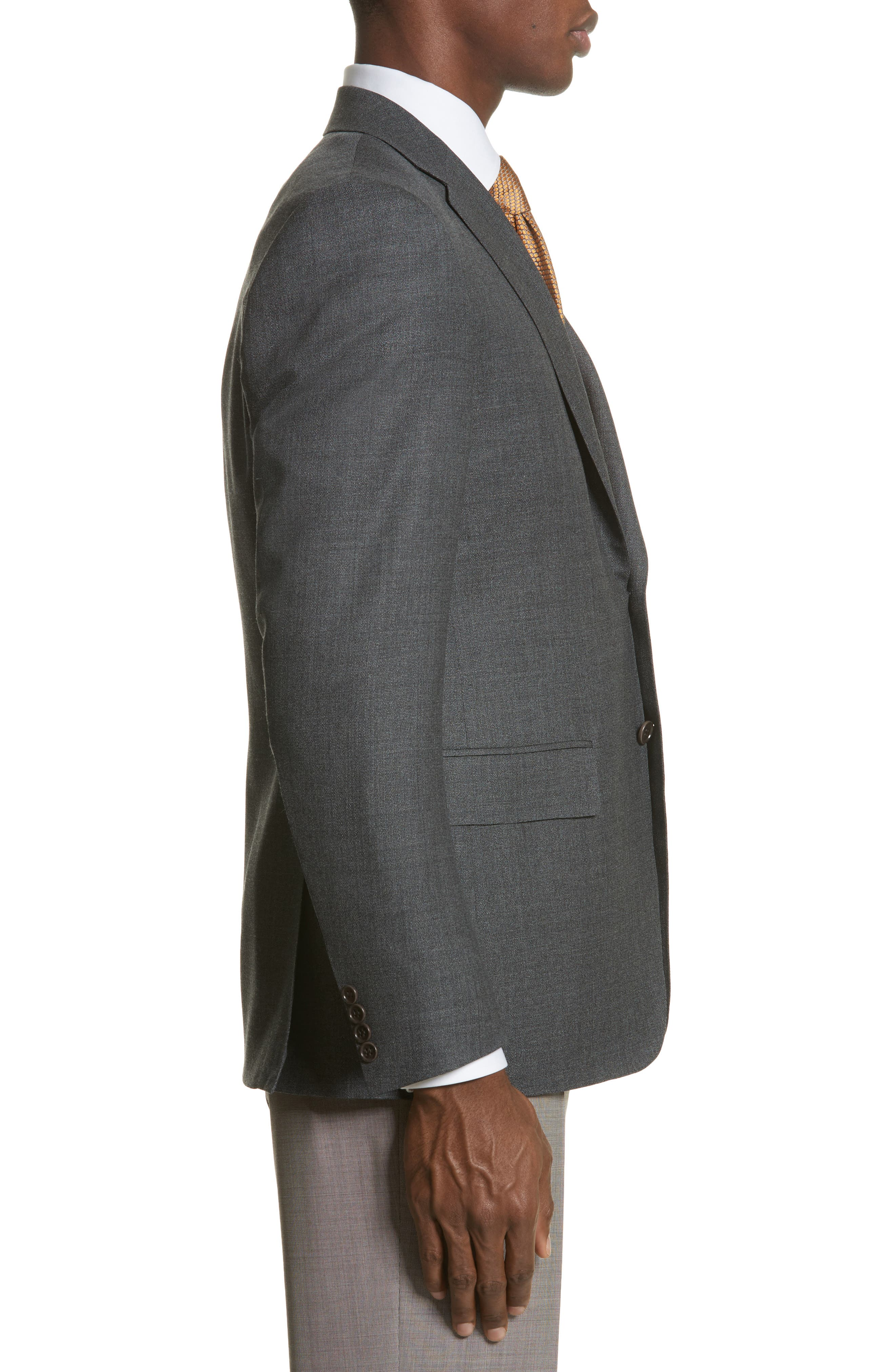 Classic Fit Wool Blazer,                             Alternate thumbnail 3, color,