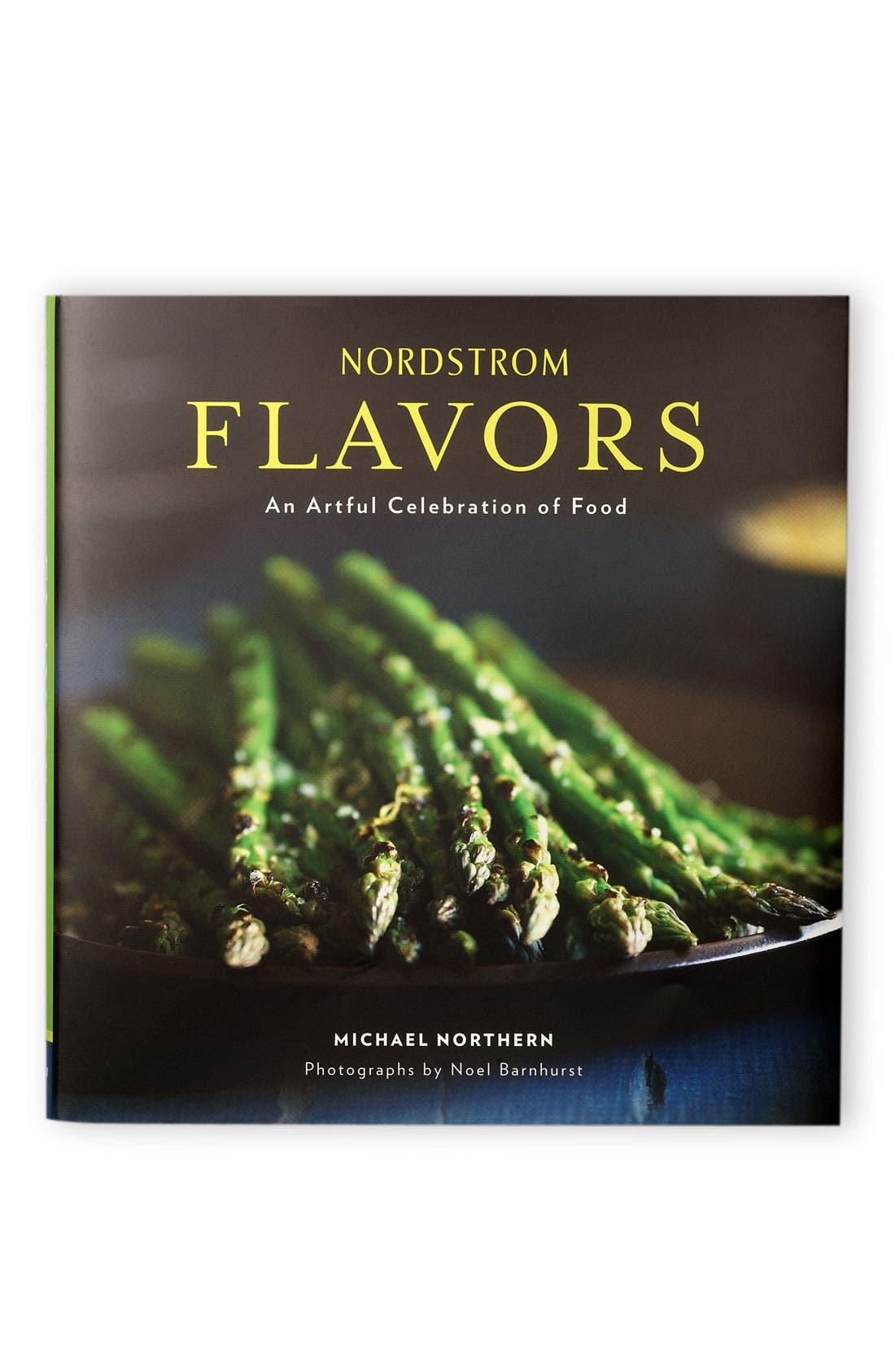 Nordstrom 'Flavors' Cookbook,                             Main thumbnail 1, color,                             000
