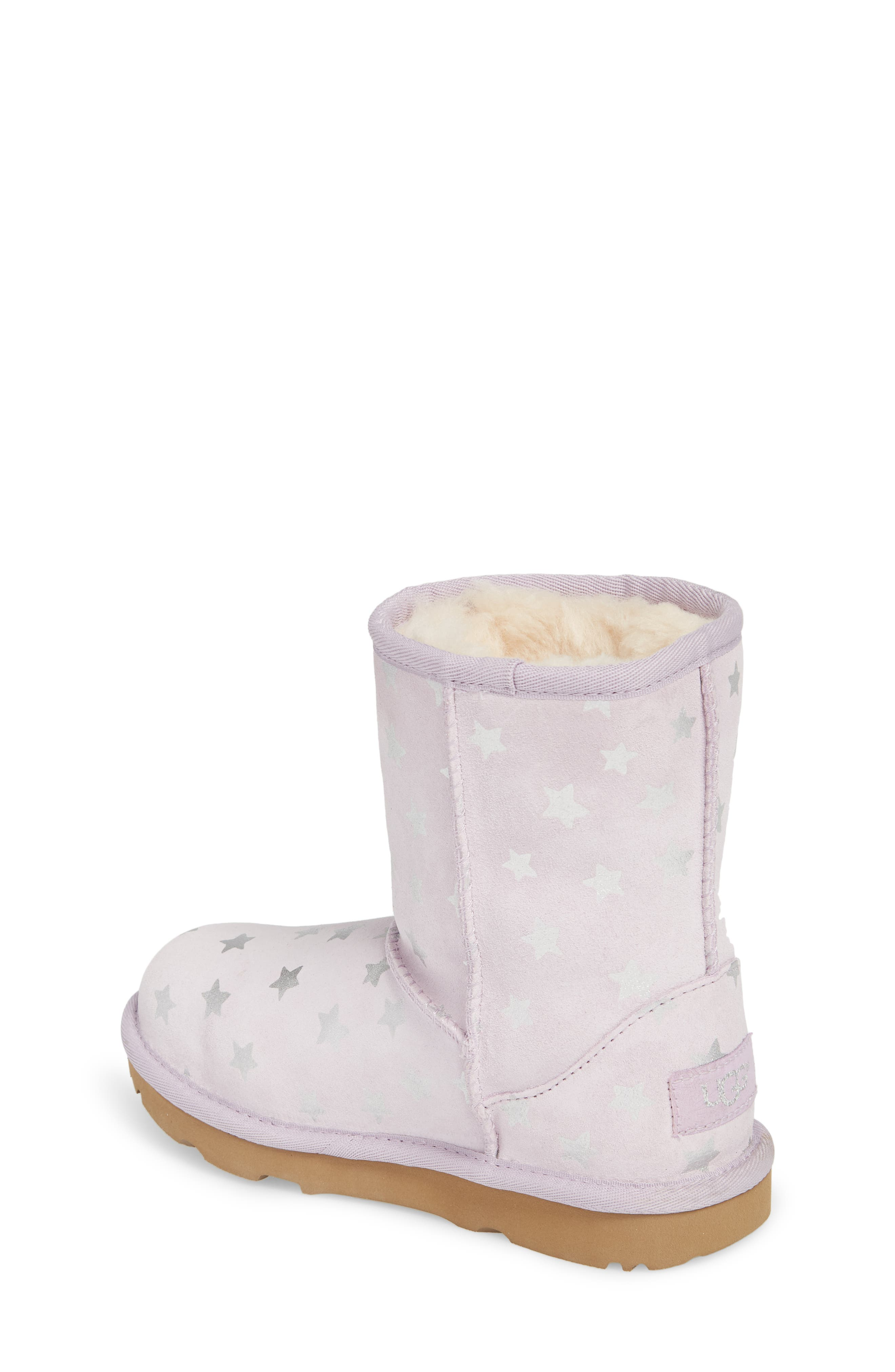 Classic Short II Water Resistant Stars Boot,                             Alternate thumbnail 2, color,                             LILAC