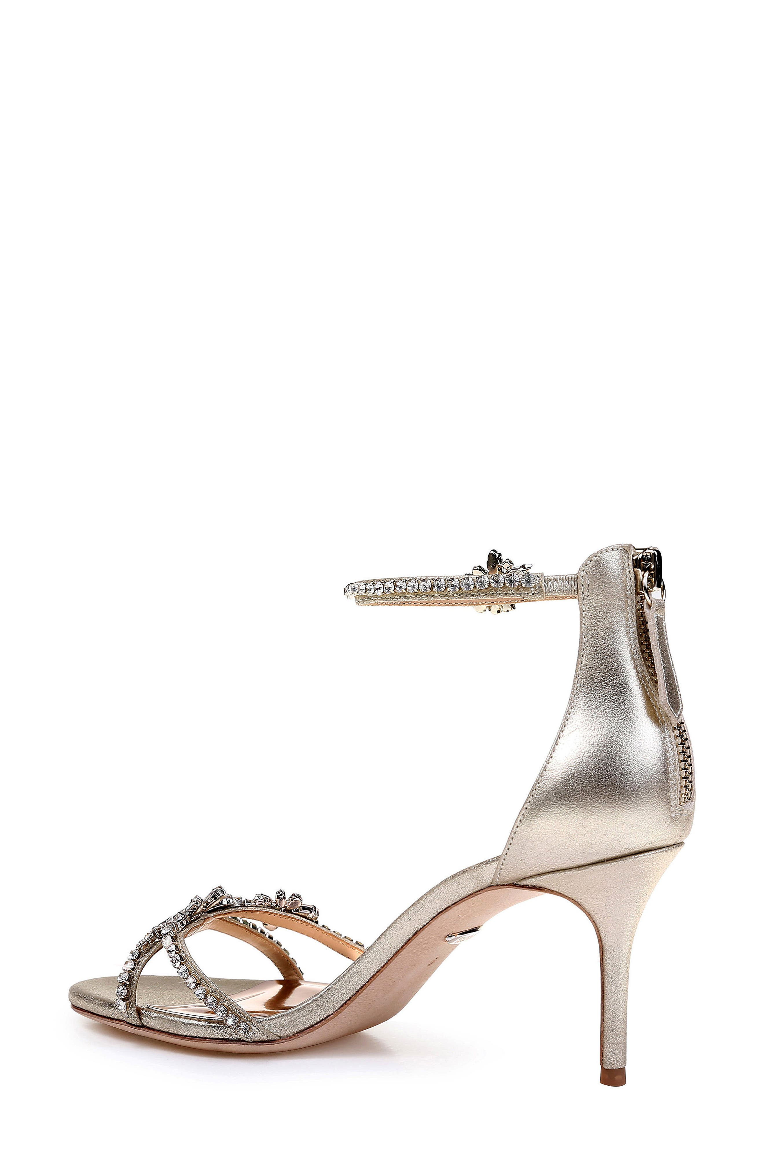 BADGLEY MISCHKA COLLECTION,                             Badgley Mischka Hobbs Ankle Strap Sandal,                             Alternate thumbnail 2, color,                             040