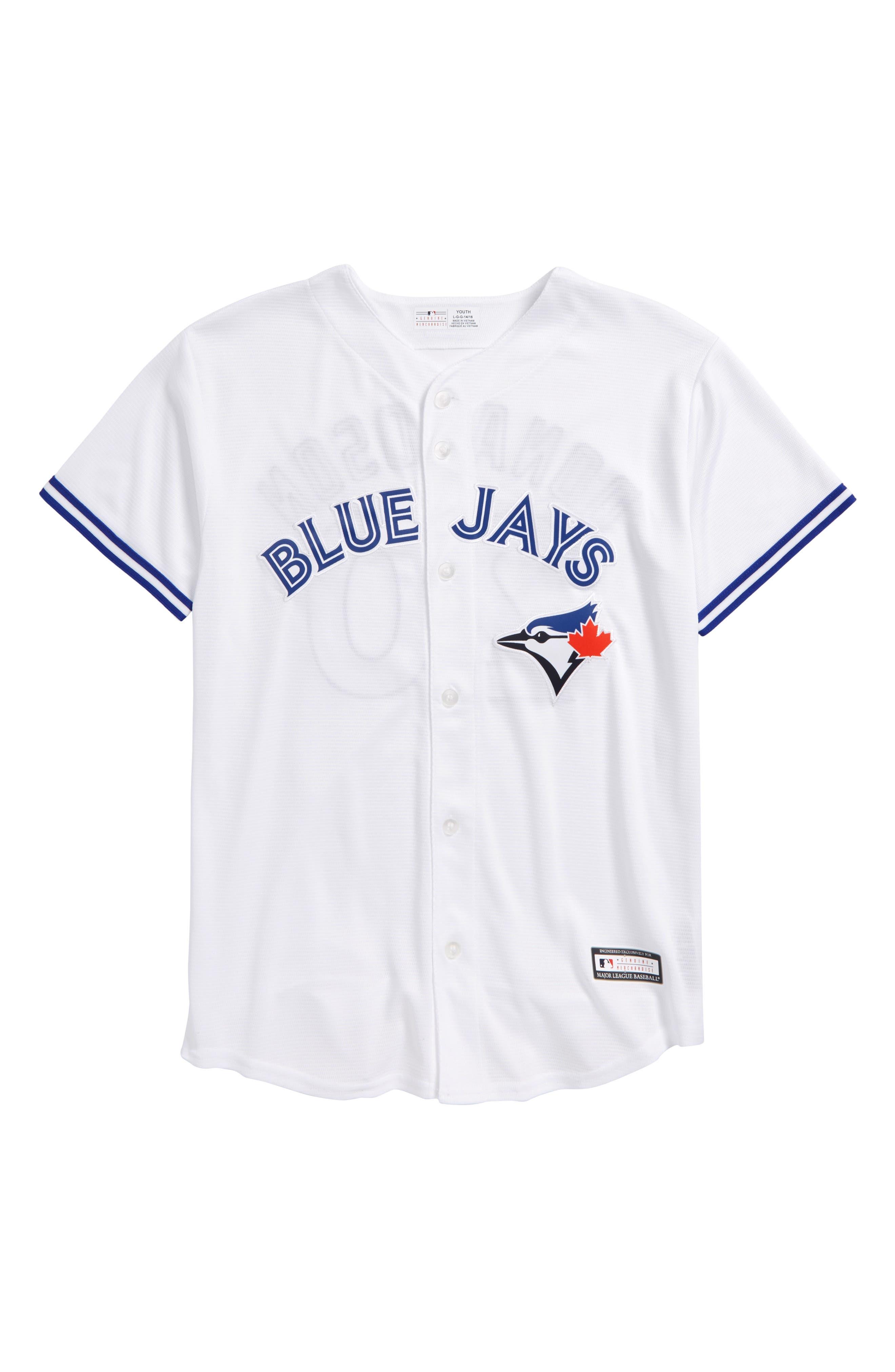 MAJESTIC MLB,                             Toronto Blue Jays - Josh Donaldson Baseball Jersey,                             Main thumbnail 1, color,                             100