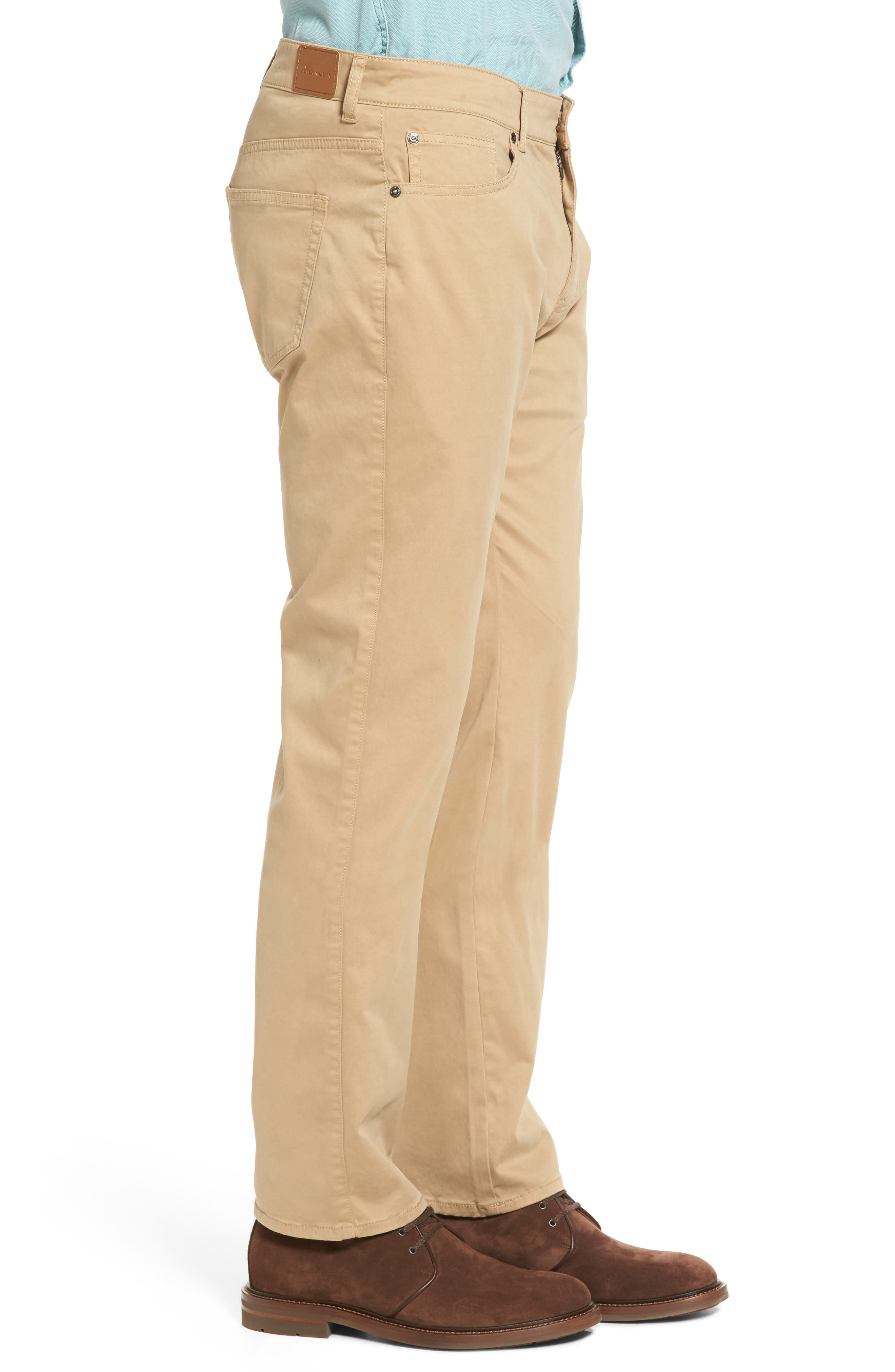 Stretch Sateen Five-Pocket Pants,                             Alternate thumbnail 10, color,