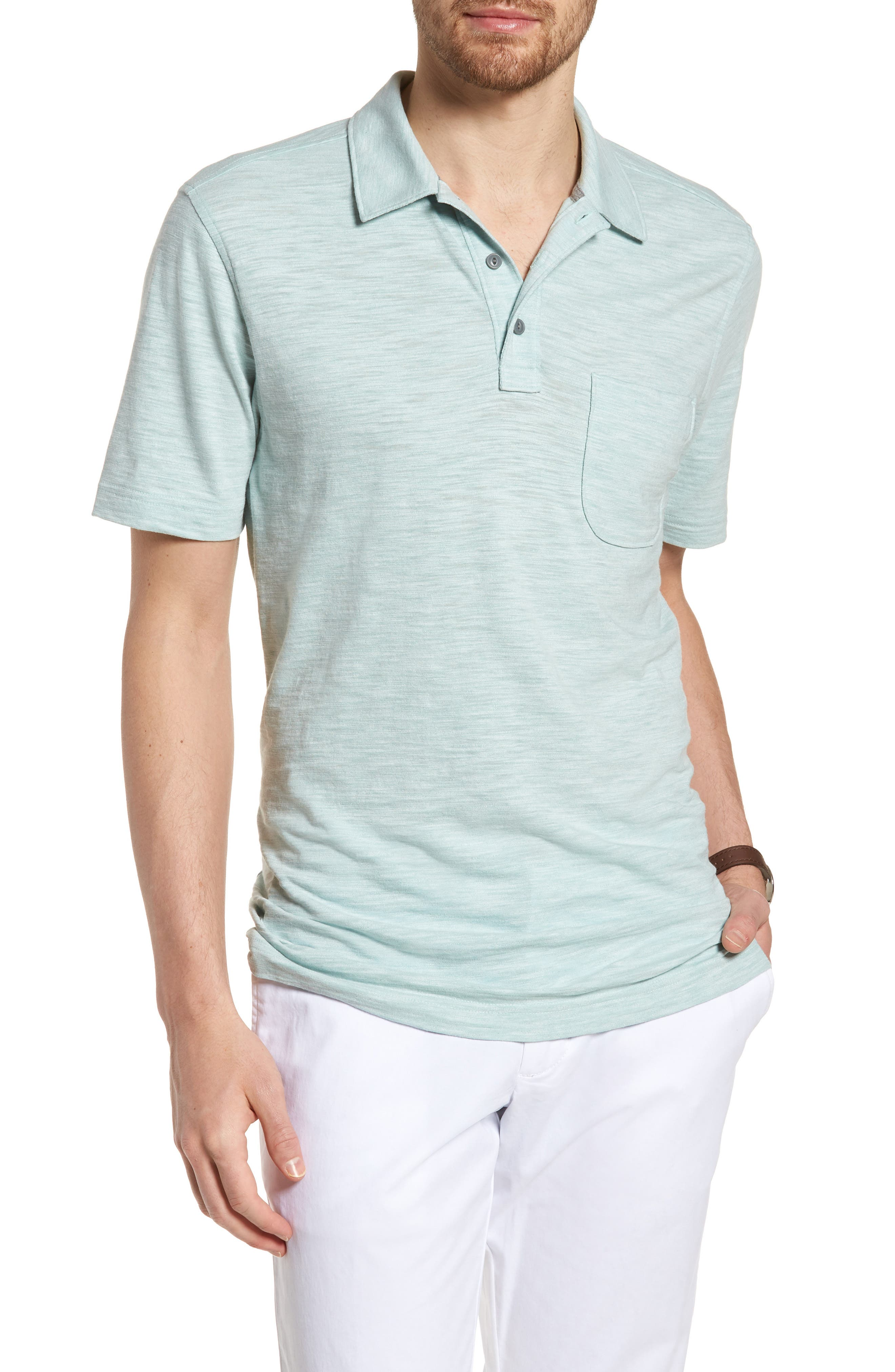 Space Dyed Pocket Polo,                             Main thumbnail 5, color,
