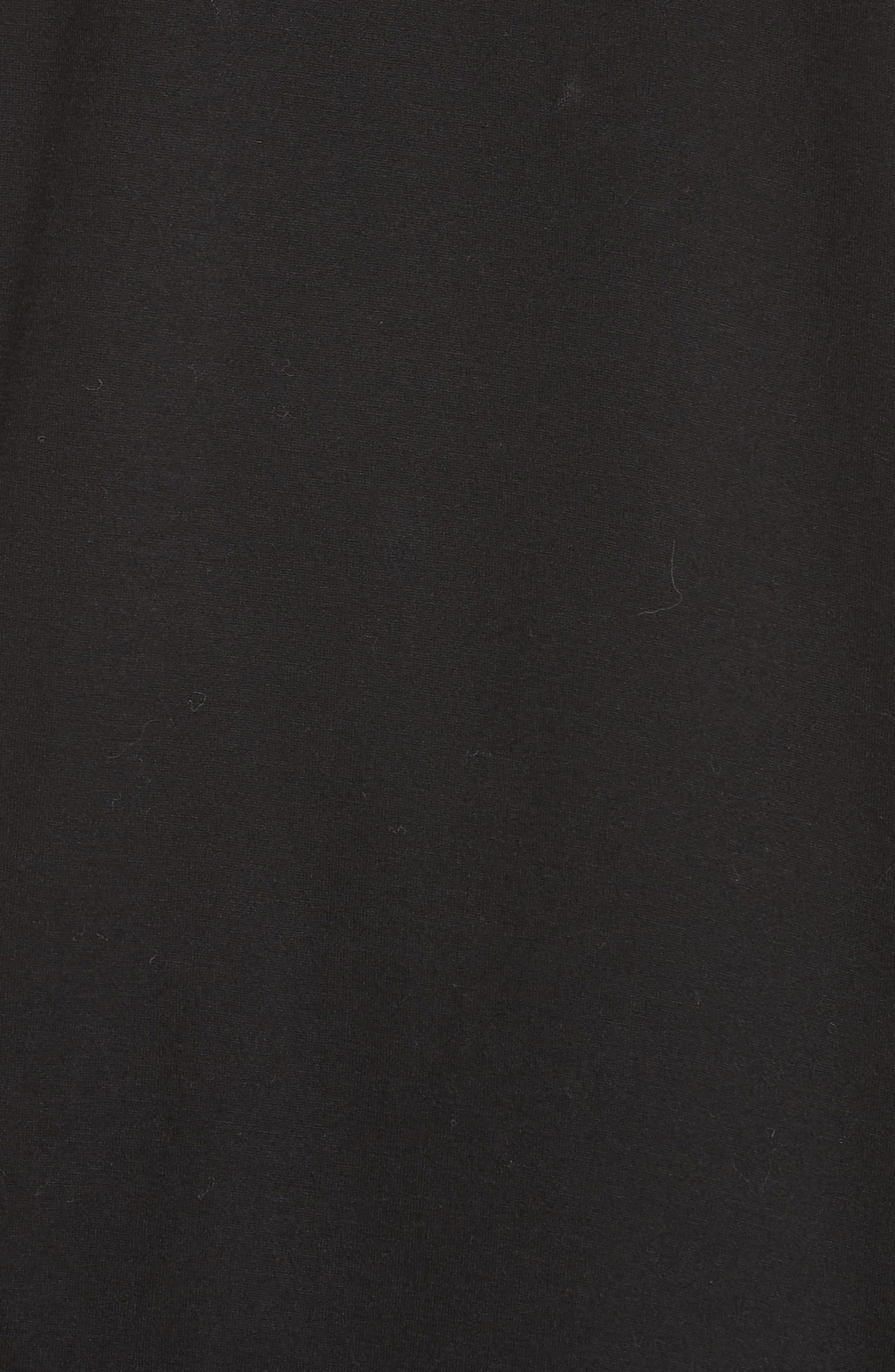 ALEXANDERWANG.T,                             Superfine Jersey Tee,                             Alternate thumbnail 5, color,                             BLACK/ PEARL