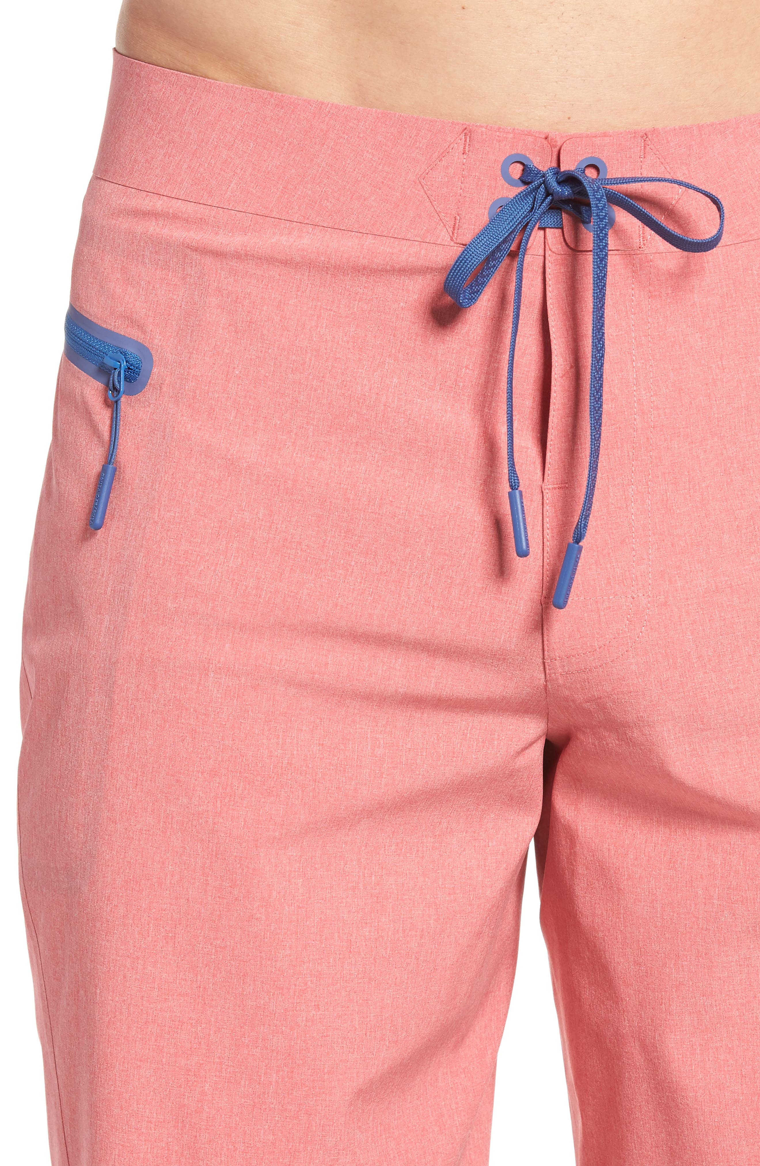 Heather Stretch Board Shorts,                             Alternate thumbnail 16, color,