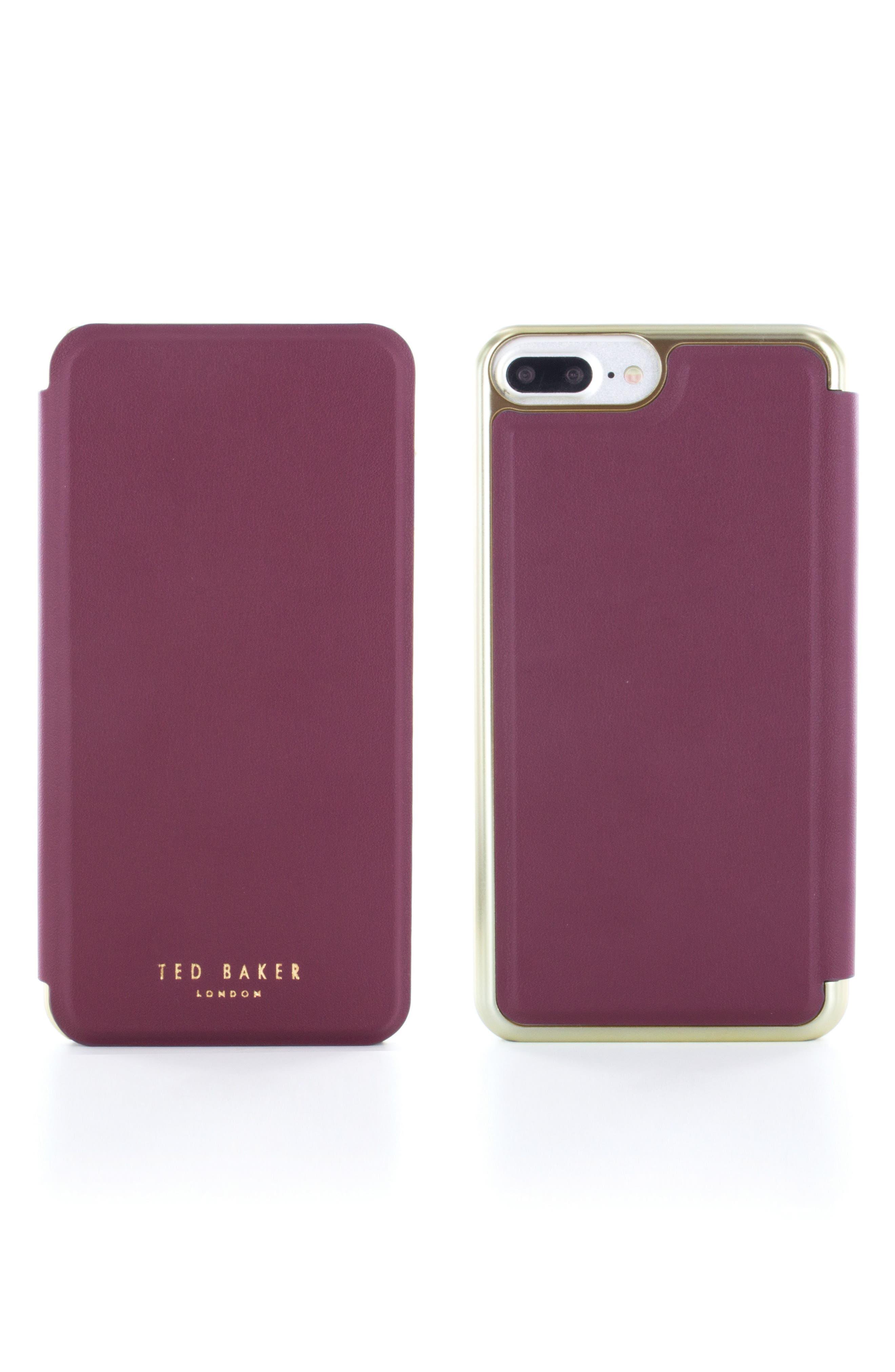 Shannon iPhone 6/6s/7/8 Plus Mirror Folio Case,                             Main thumbnail 1, color,                             601
