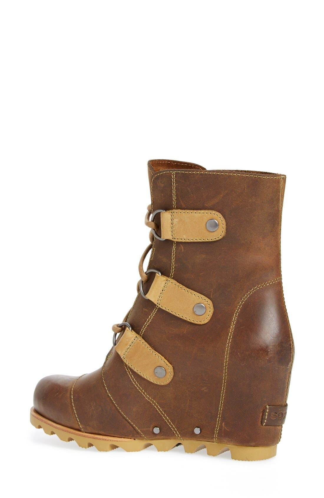 'Joan of Arctic' Waterproof Wedge Boot,                             Alternate thumbnail 32, color,