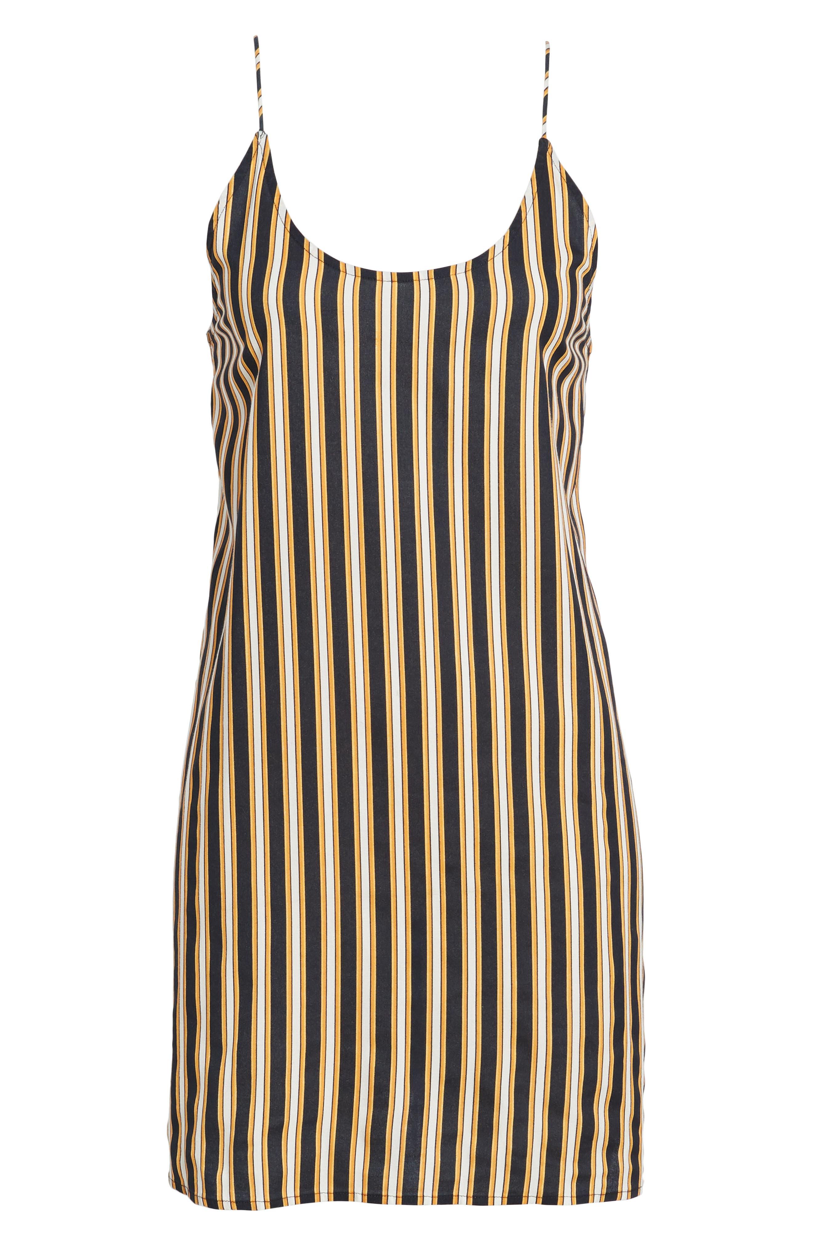 Stoney Stripe Slipdress,                             Alternate thumbnail 7, color,