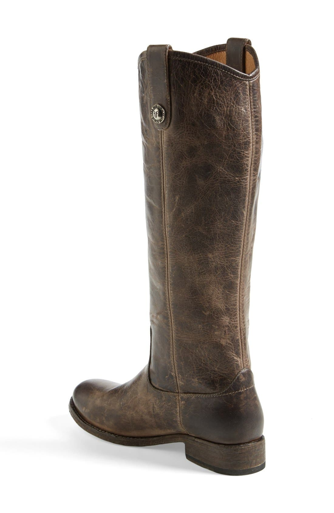 'Melissa Button' Leather Riding Boot,                             Alternate thumbnail 107, color,