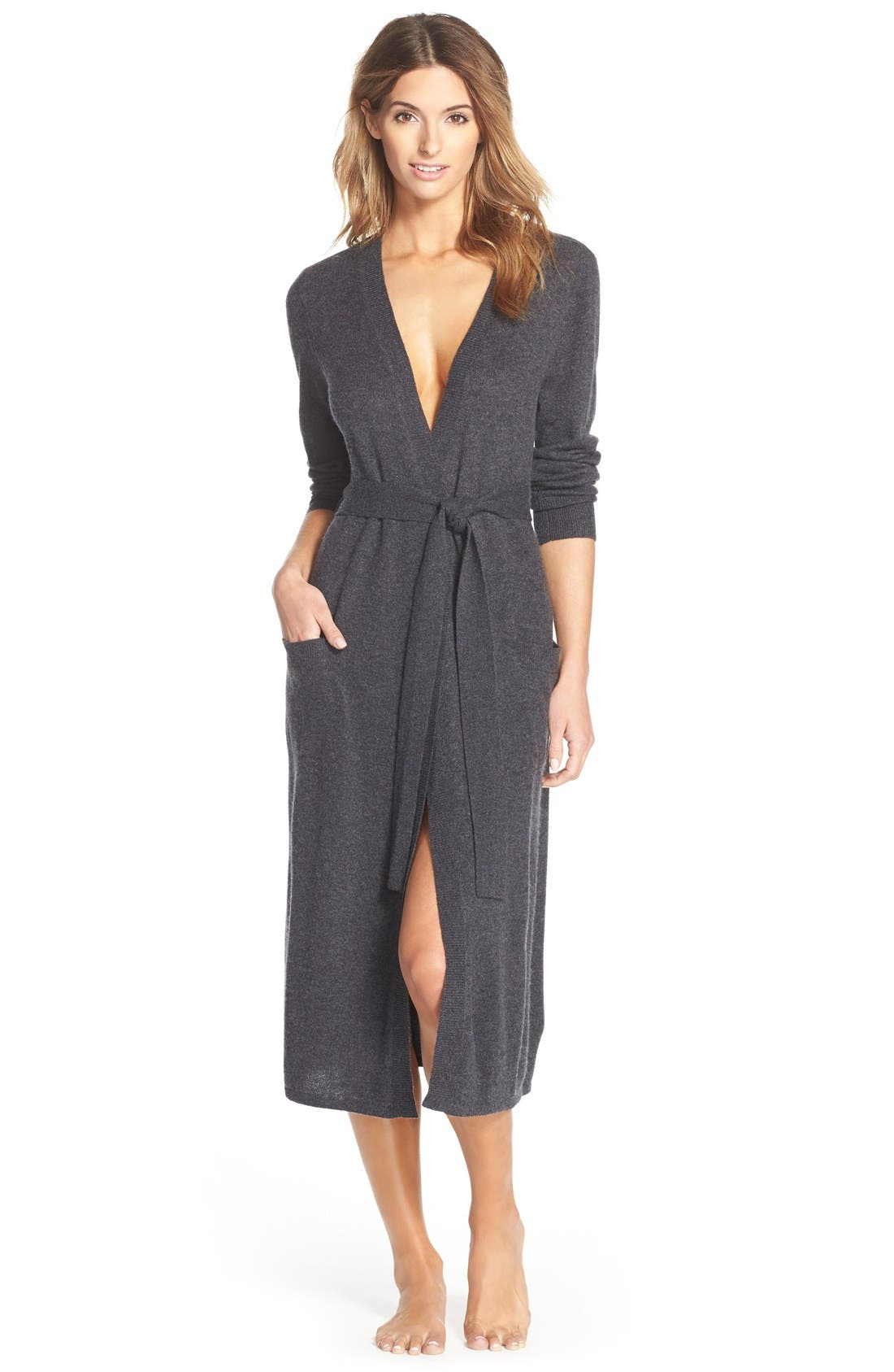 Cashmere Robe,                             Main thumbnail 1, color,