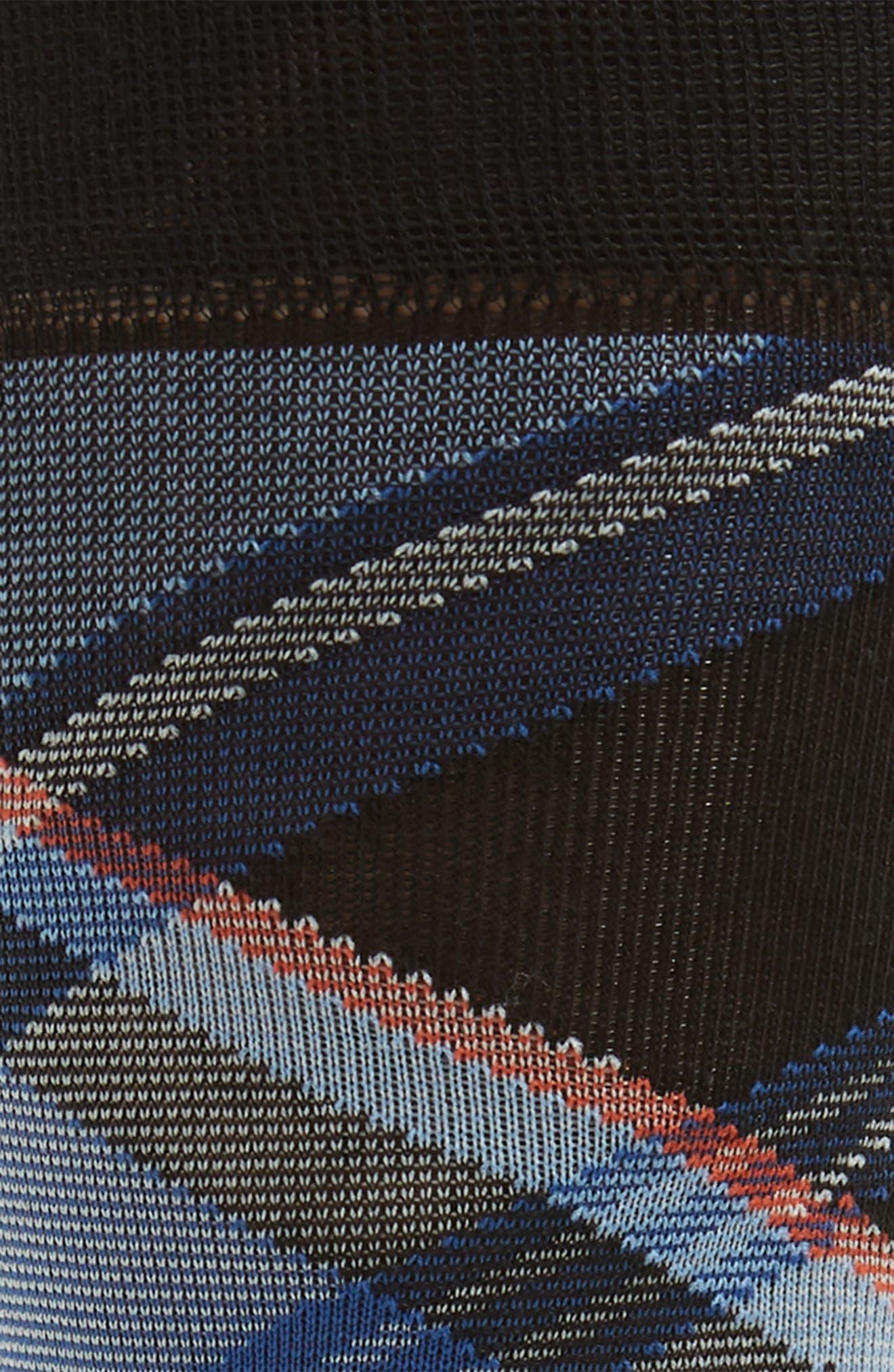 Plaid Socks,                             Alternate thumbnail 2, color,                             BLACK
