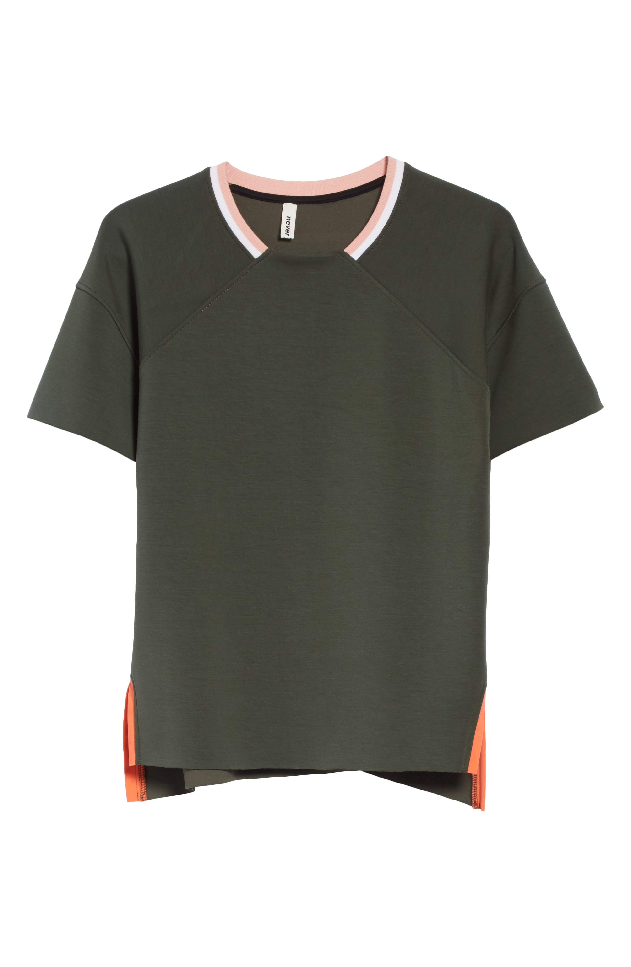 Ringer Raglan Tee,                             Alternate thumbnail 6, color,                             300