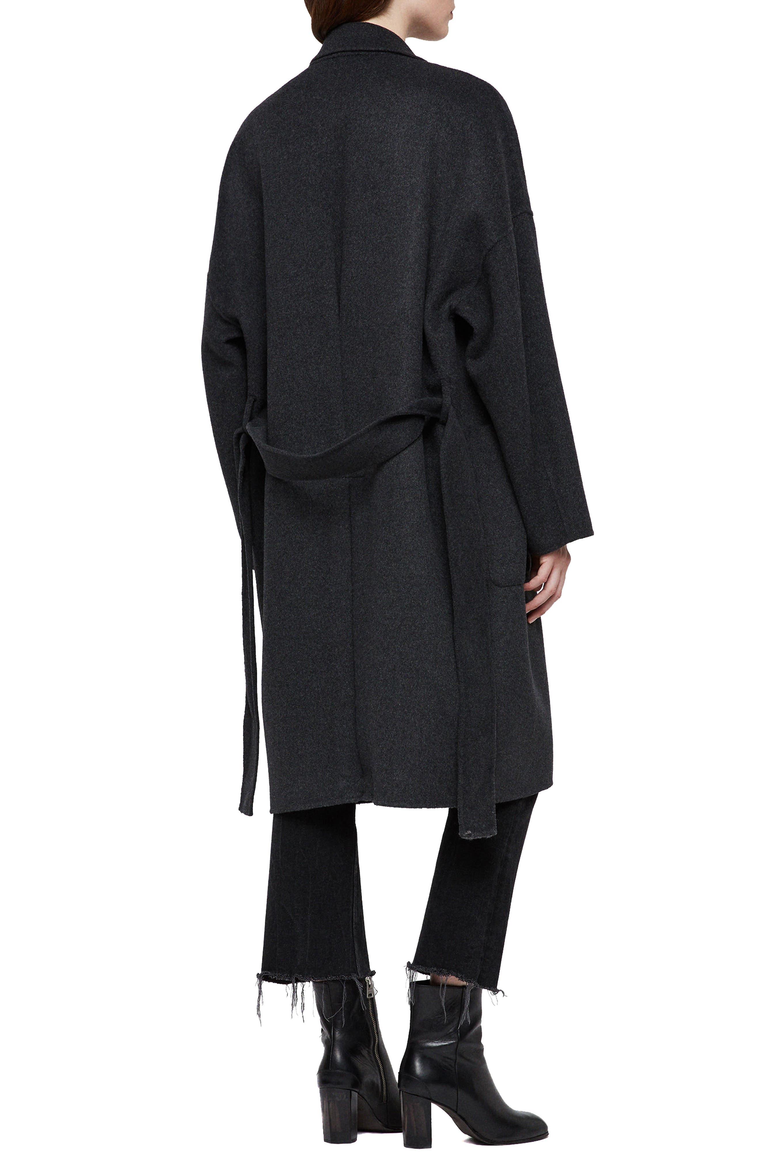 Lara Long Coat,                             Alternate thumbnail 2, color,                             078