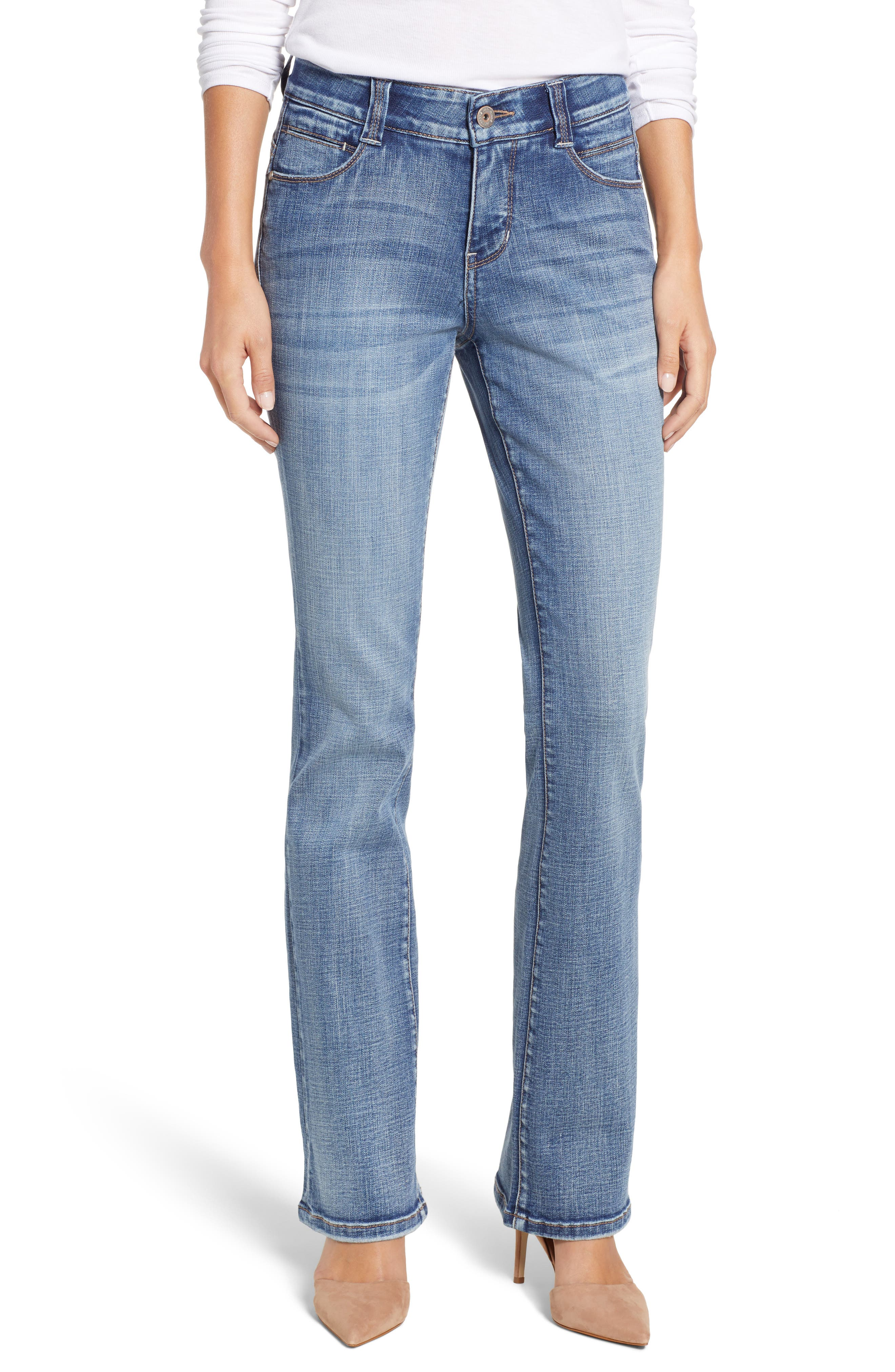 JAG JEANS Eloise Bootcut Jeans in Med Indigo