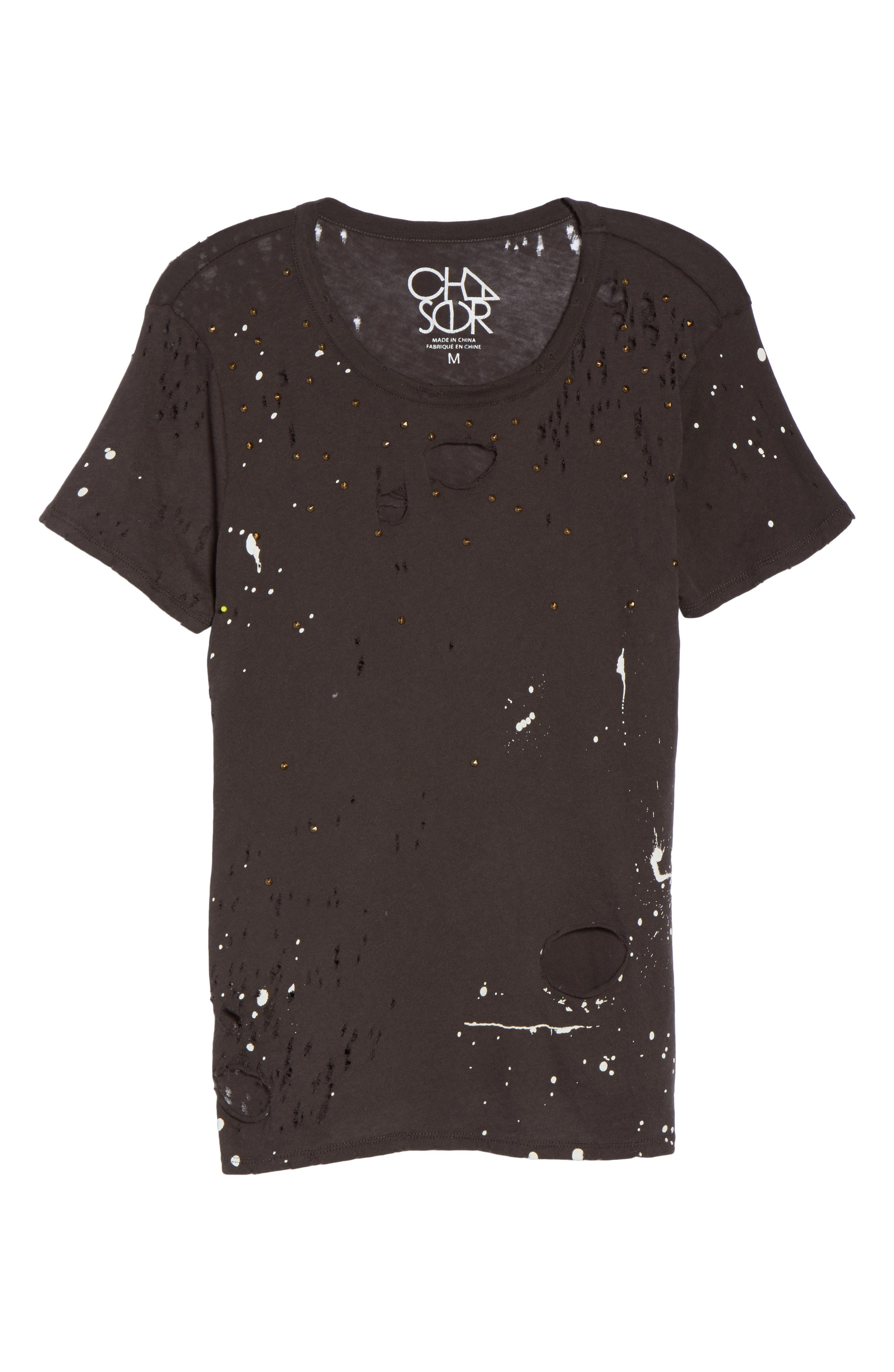 Distressed Tee,                             Alternate thumbnail 6, color,                             003