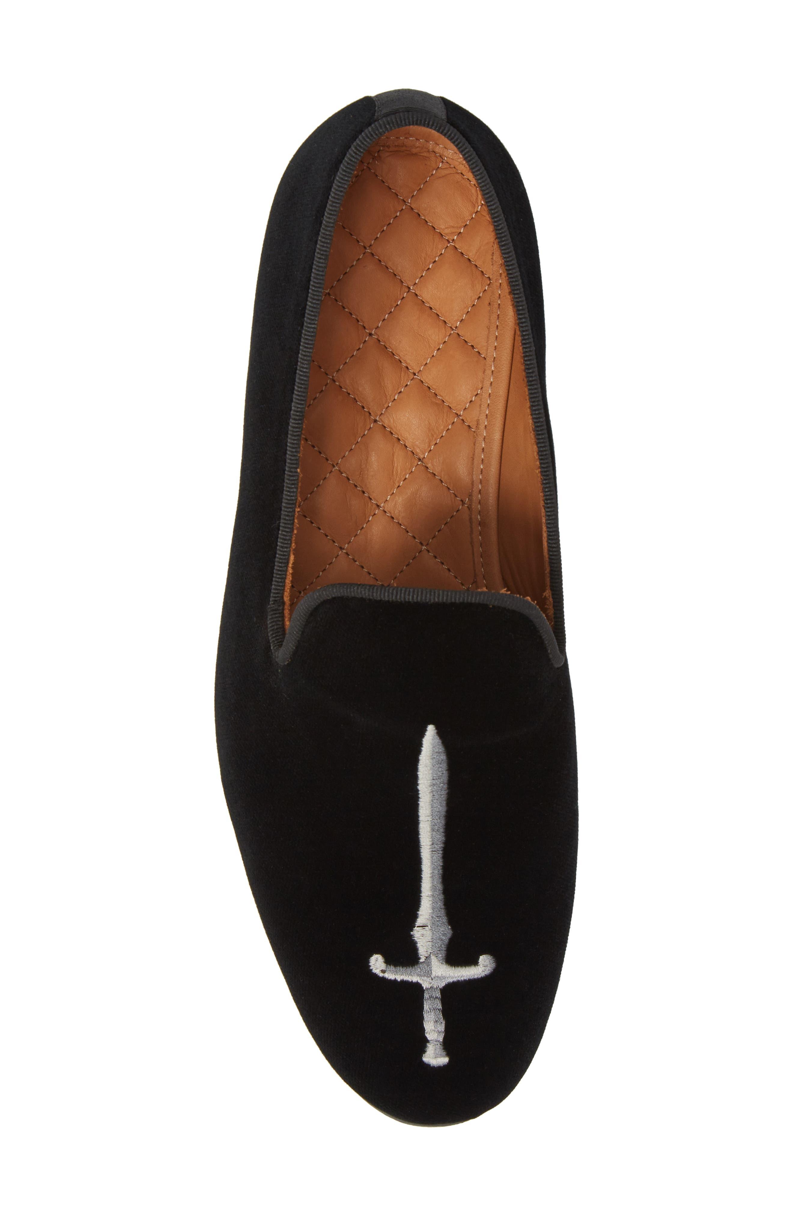 Bravi 2 Loafer,                             Alternate thumbnail 5, color,                             BLACK LEATHER