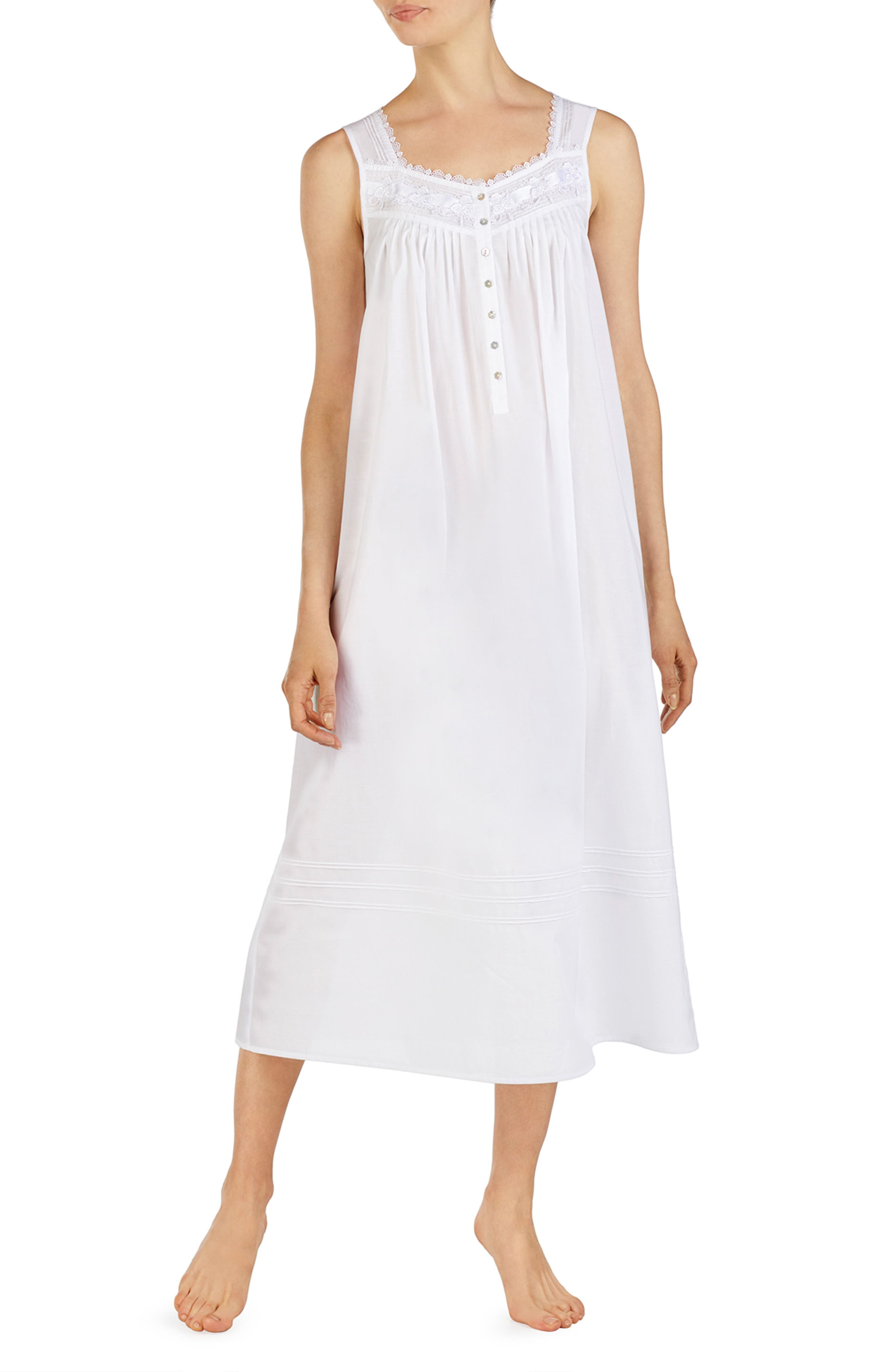 Eileen West Cotton Lawn Nightgown