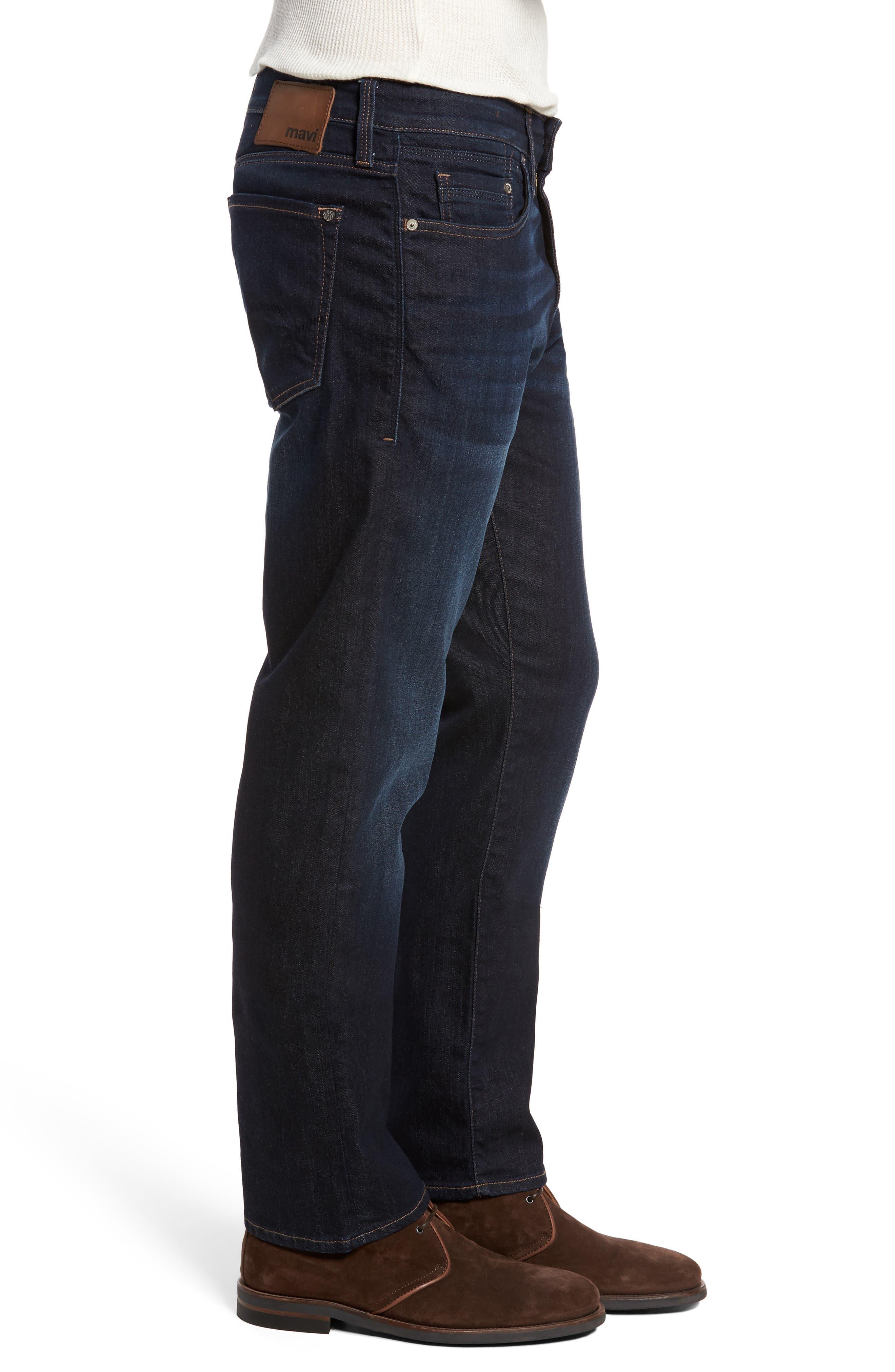 Matt Relaxed Fit Jeans,                             Alternate thumbnail 3, color,                             401