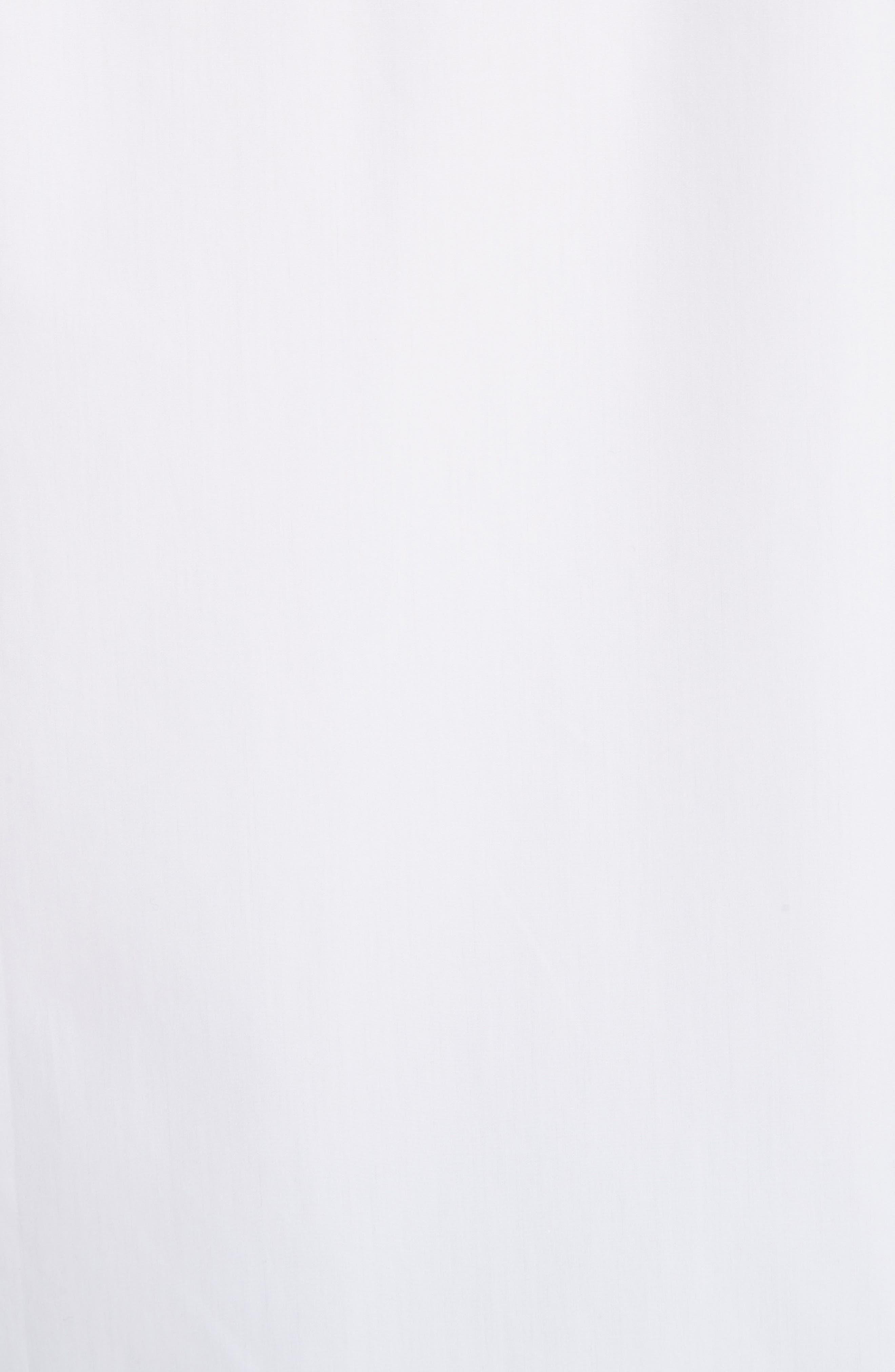 Slim Fit Band Placket Sport Shirt,                             Alternate thumbnail 2, color,                             100