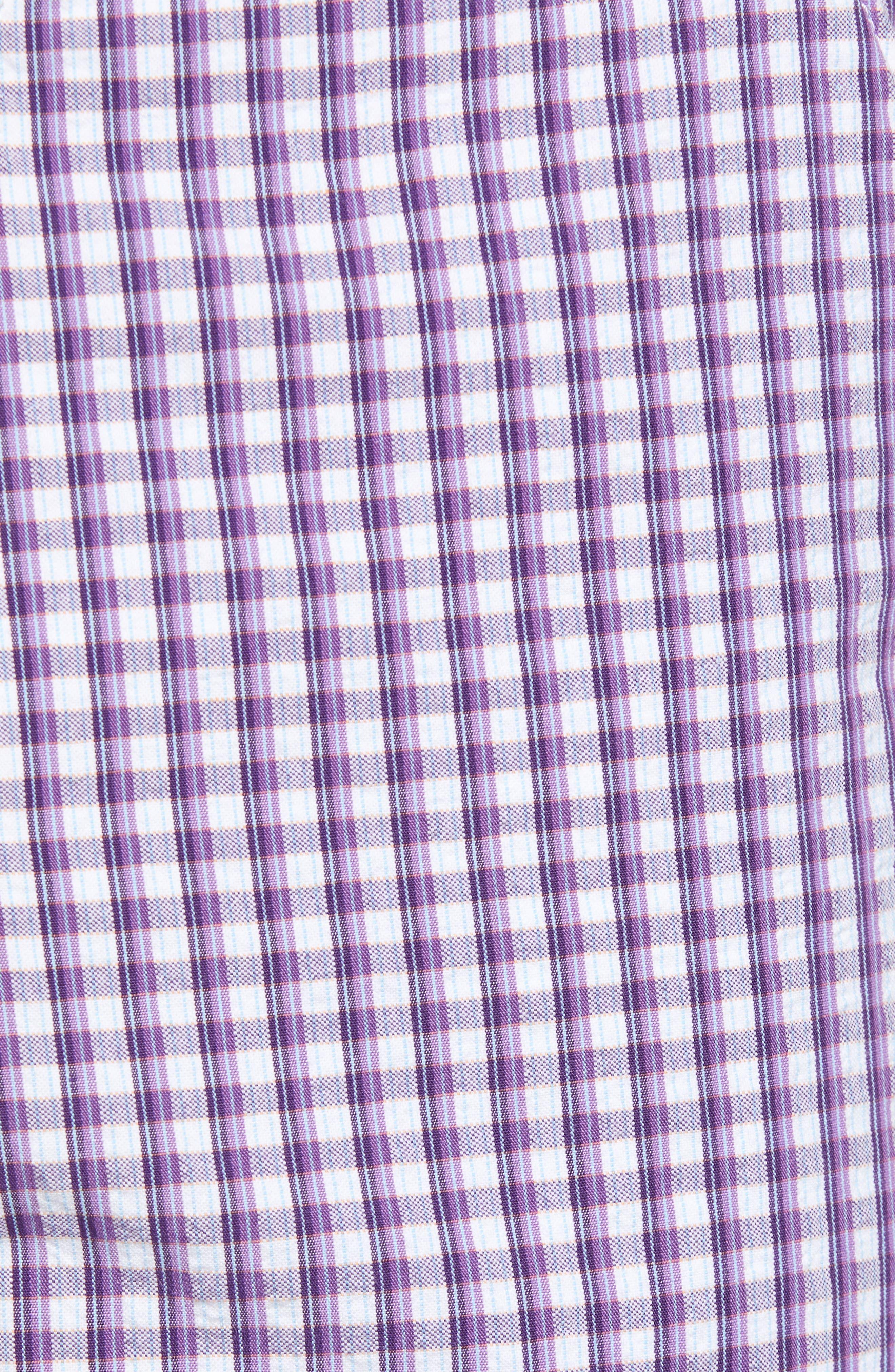 Melendez Classic Fit Shorts,                             Alternate thumbnail 5, color,                             RED
