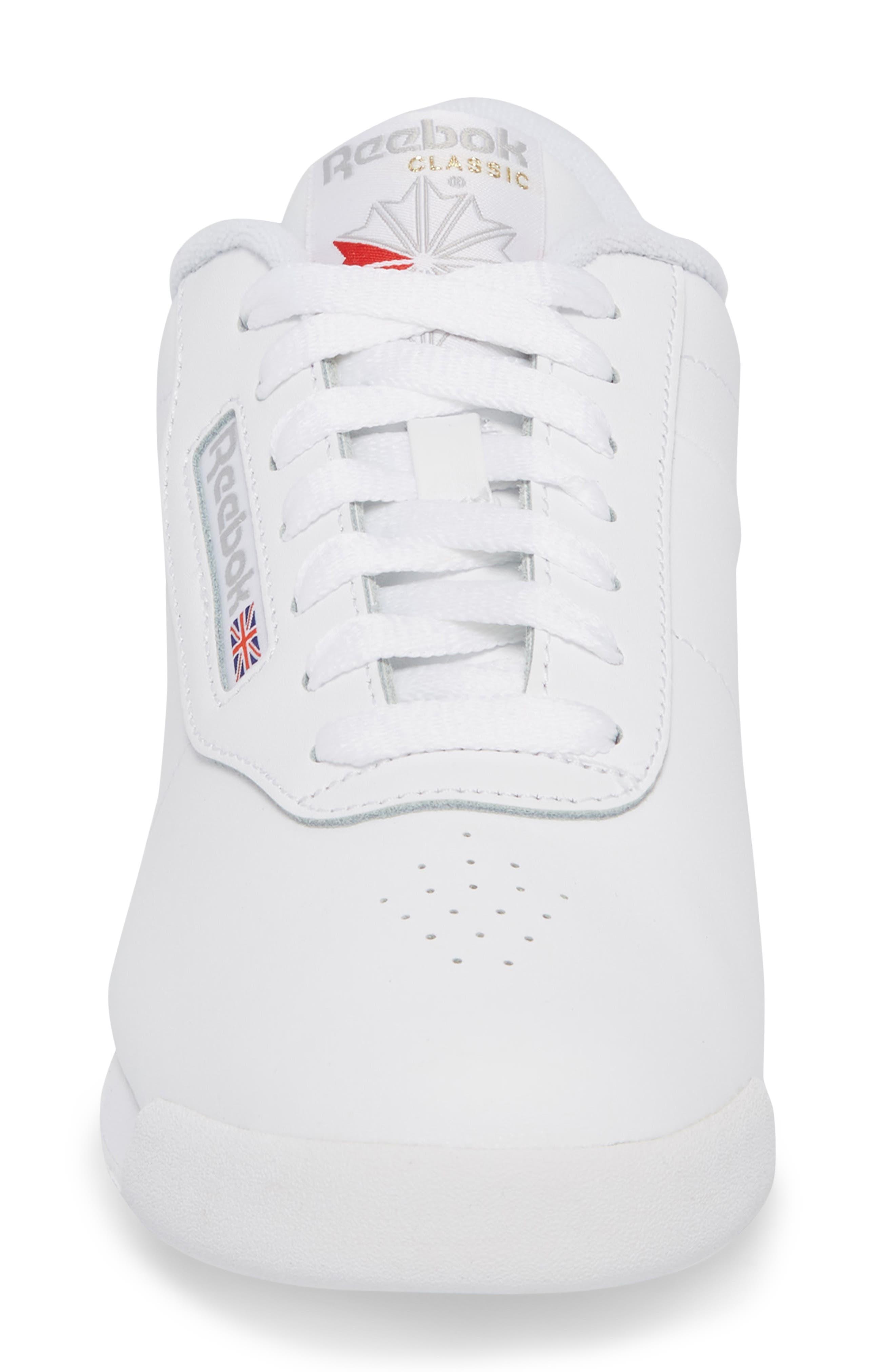 Princess Sneaker,                             Alternate thumbnail 4, color,                             WHITE