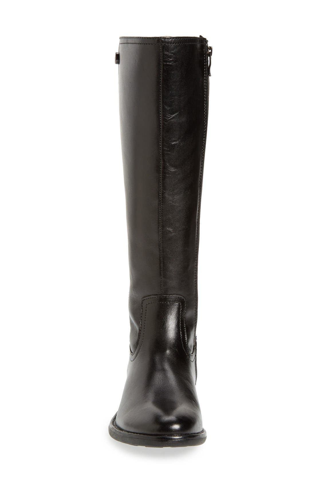 'Tanga' Riding Boot,                             Alternate thumbnail 3, color,                             001