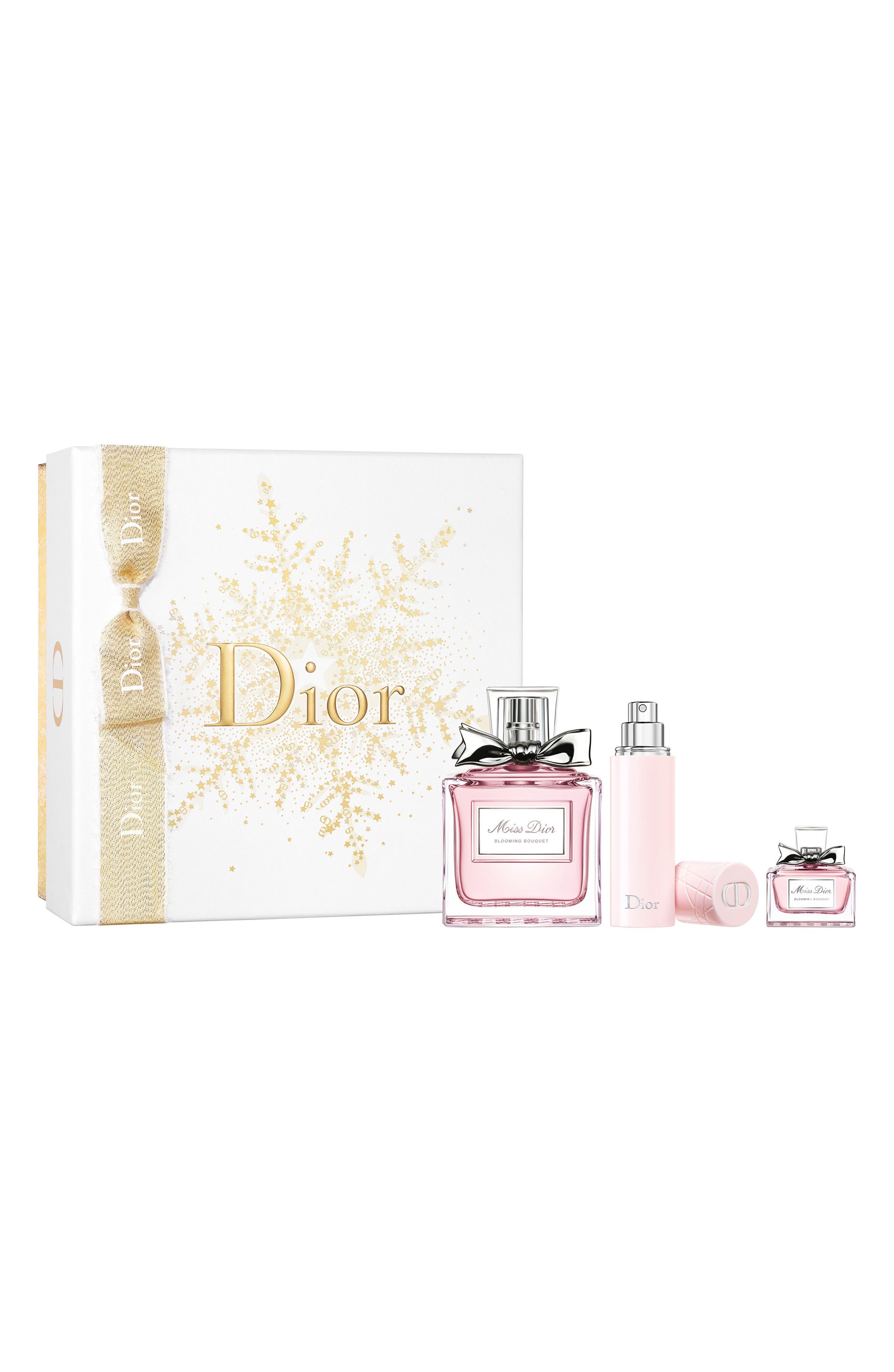 Miss Dior Blooming Bouquet Eau de Toilette Signature Set,                             Main thumbnail 1, color,                             000