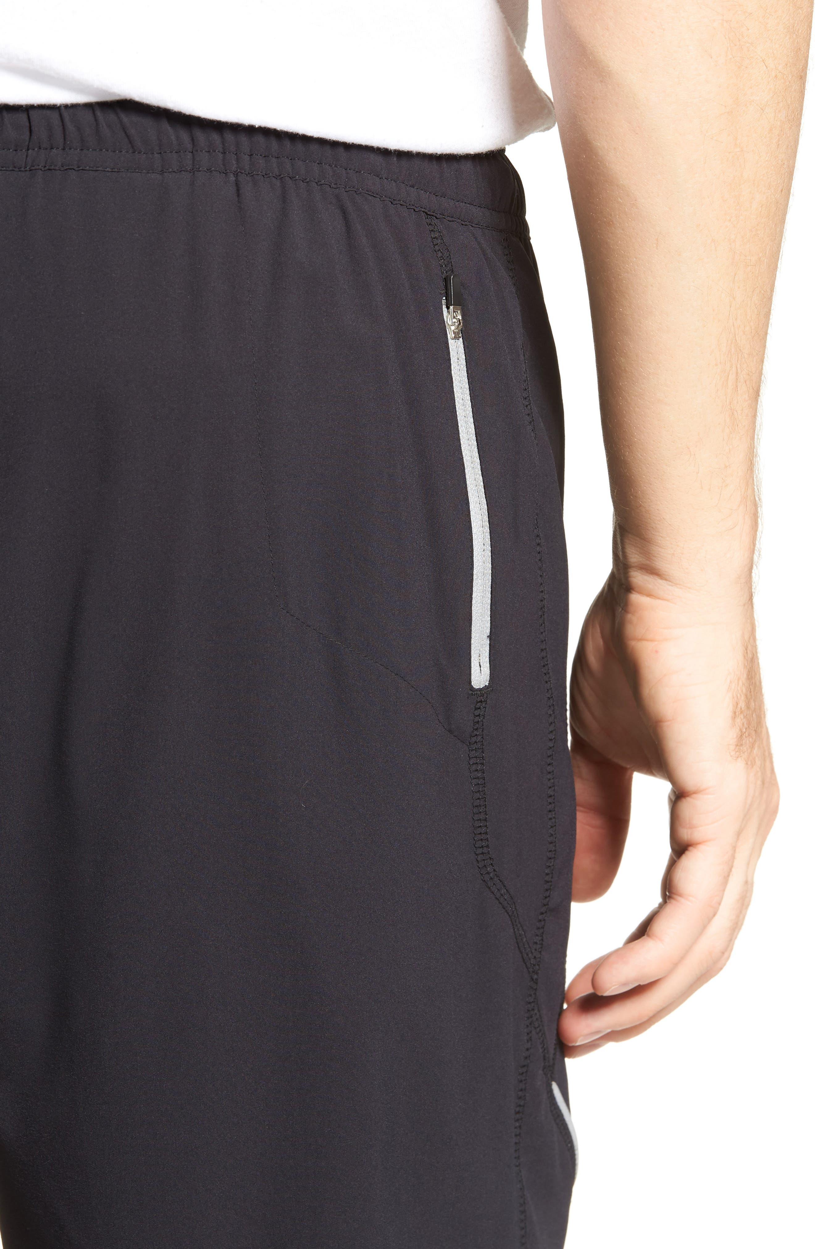 Propulsion Athletic Shorts,                             Alternate thumbnail 4, color,                             BLACK