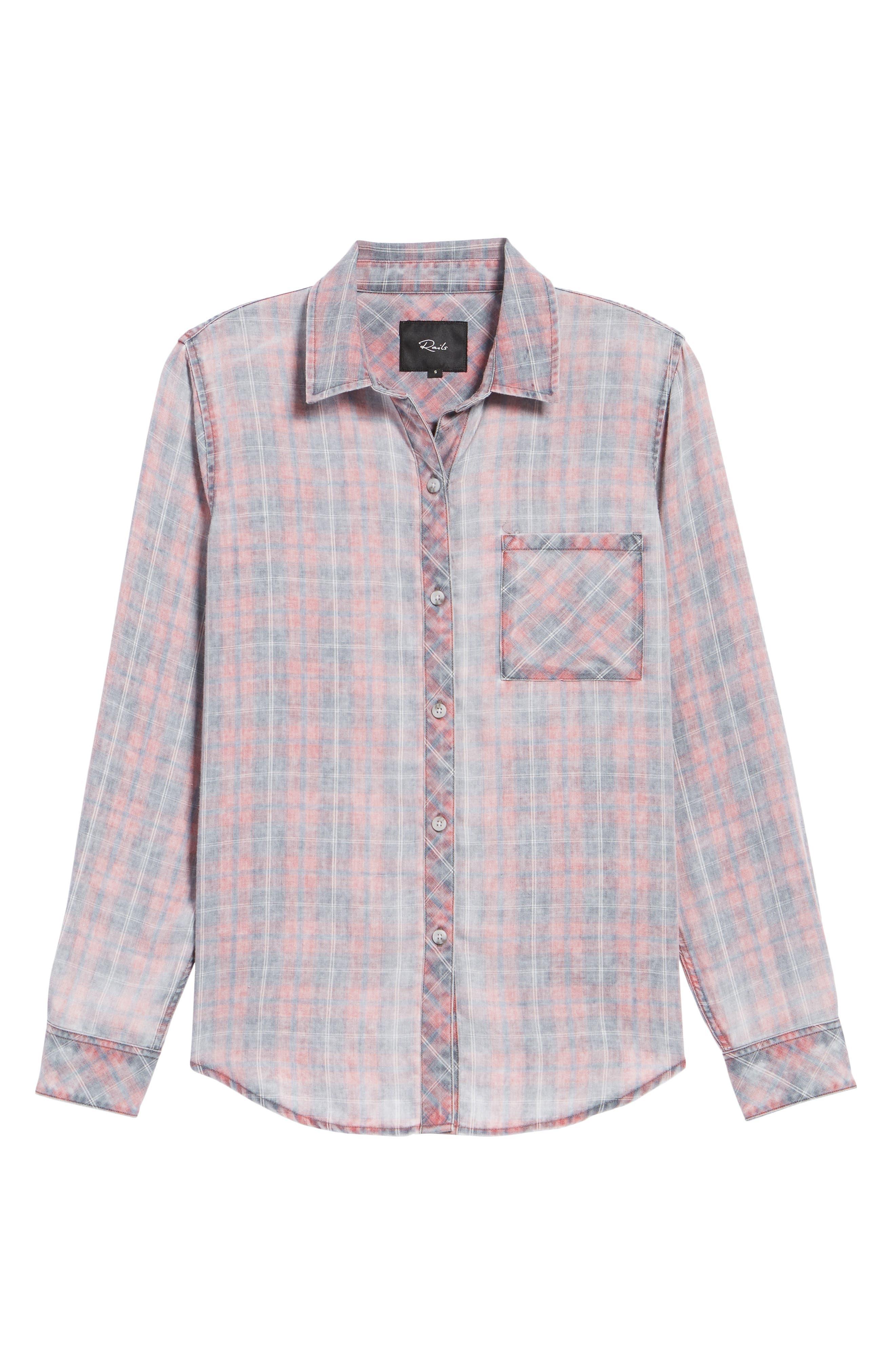 Hunter Plaid Shirt,                             Alternate thumbnail 693, color,