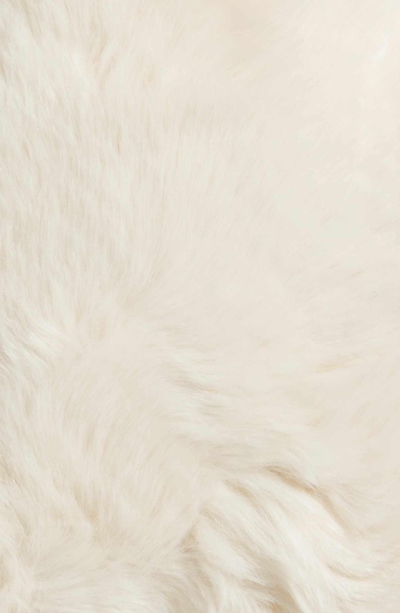 Cuddle Up Faux Fur Star Pillow,                             Alternate thumbnail 8, color,