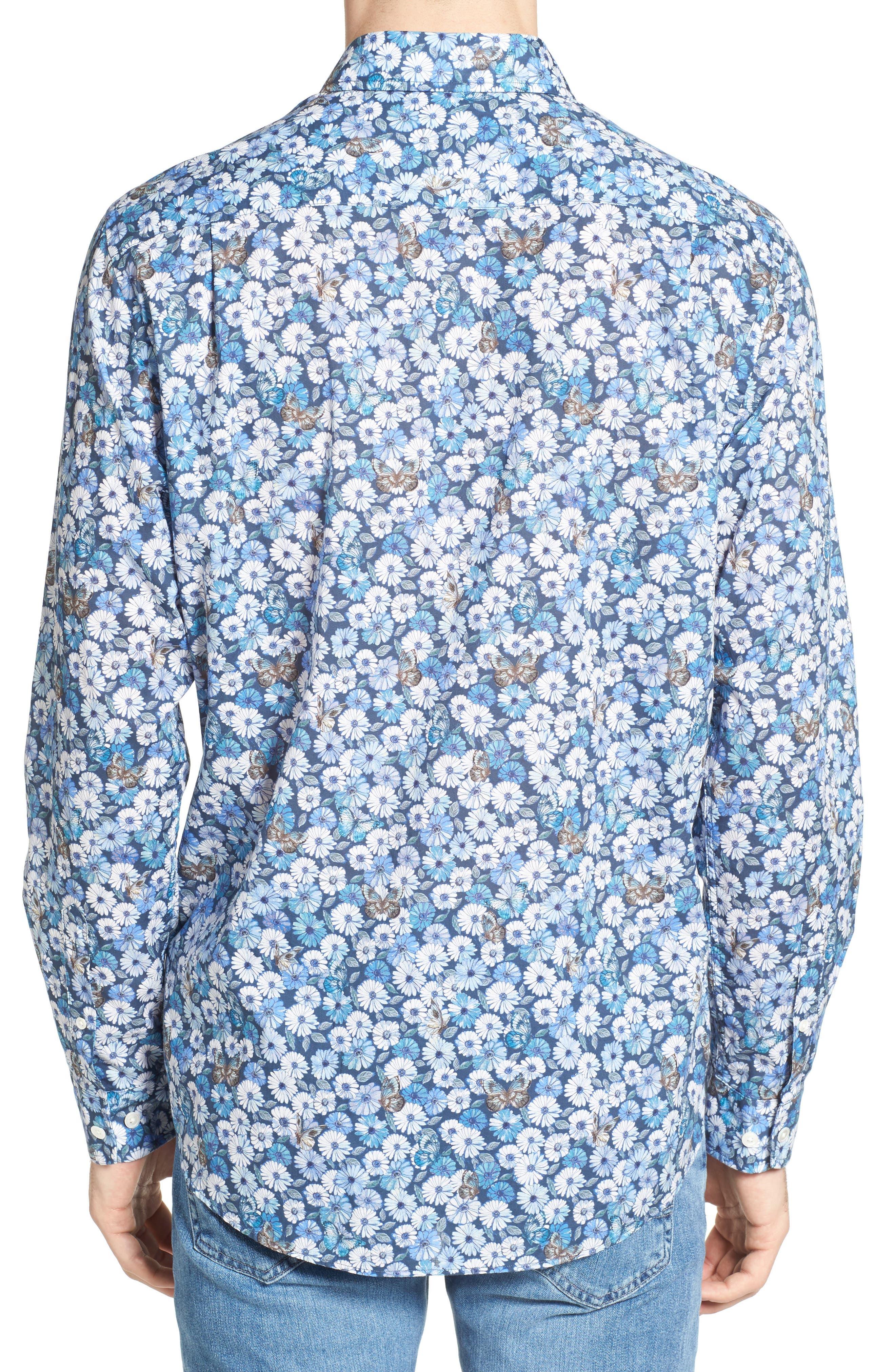 Leith Sport Shirt,                             Alternate thumbnail 2, color,                             414
