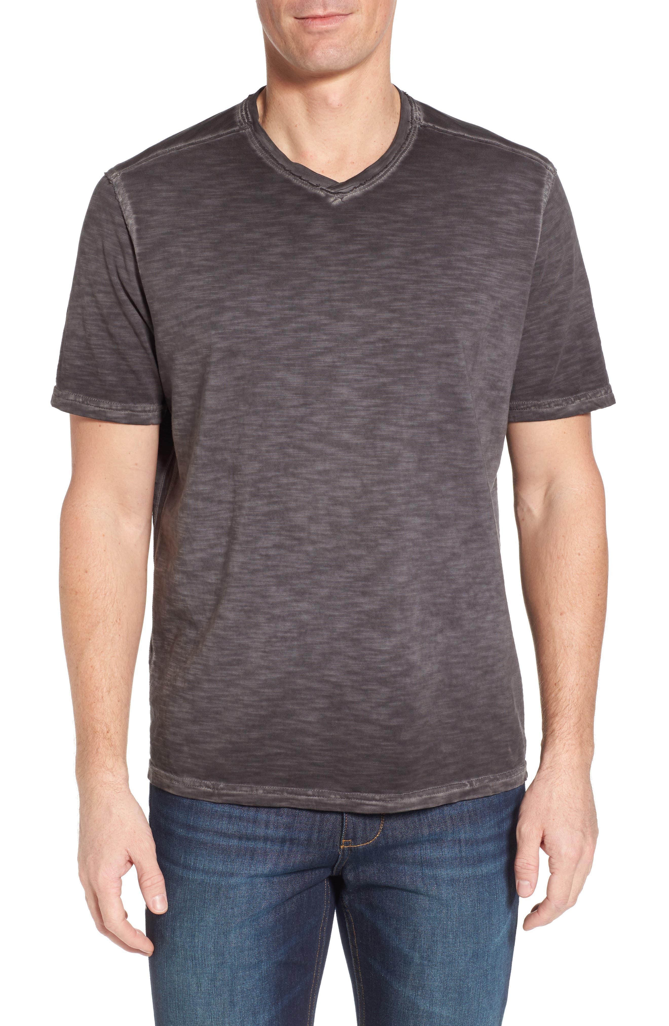 Suncoast Shores V-Neck T-Shirt,                             Main thumbnail 1, color,                             001