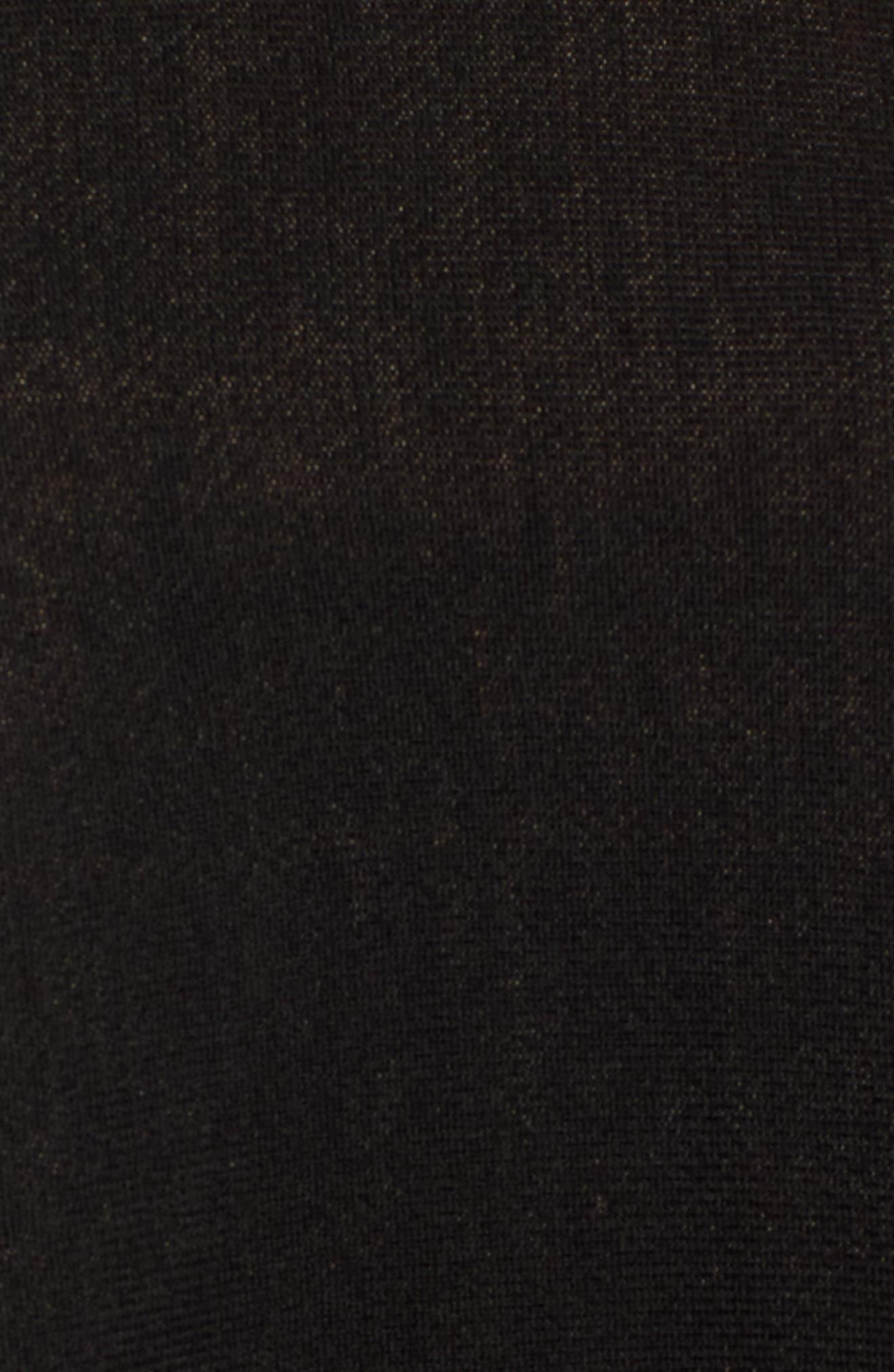 Lilja Wool Poncho,                             Alternate thumbnail 5, color,                             006